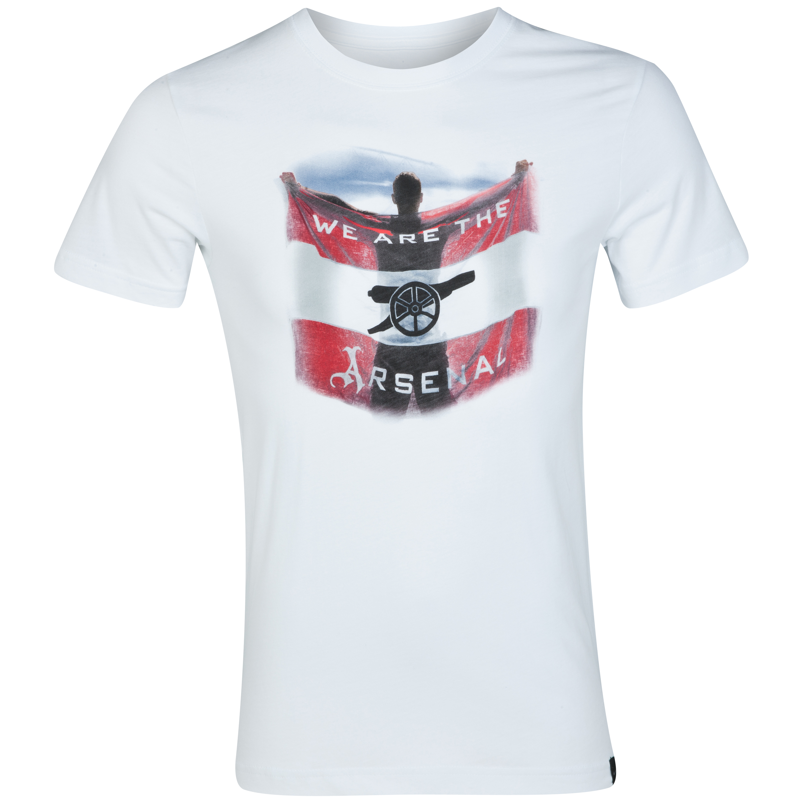 Arsenal Authentic T-Shirt - White/White