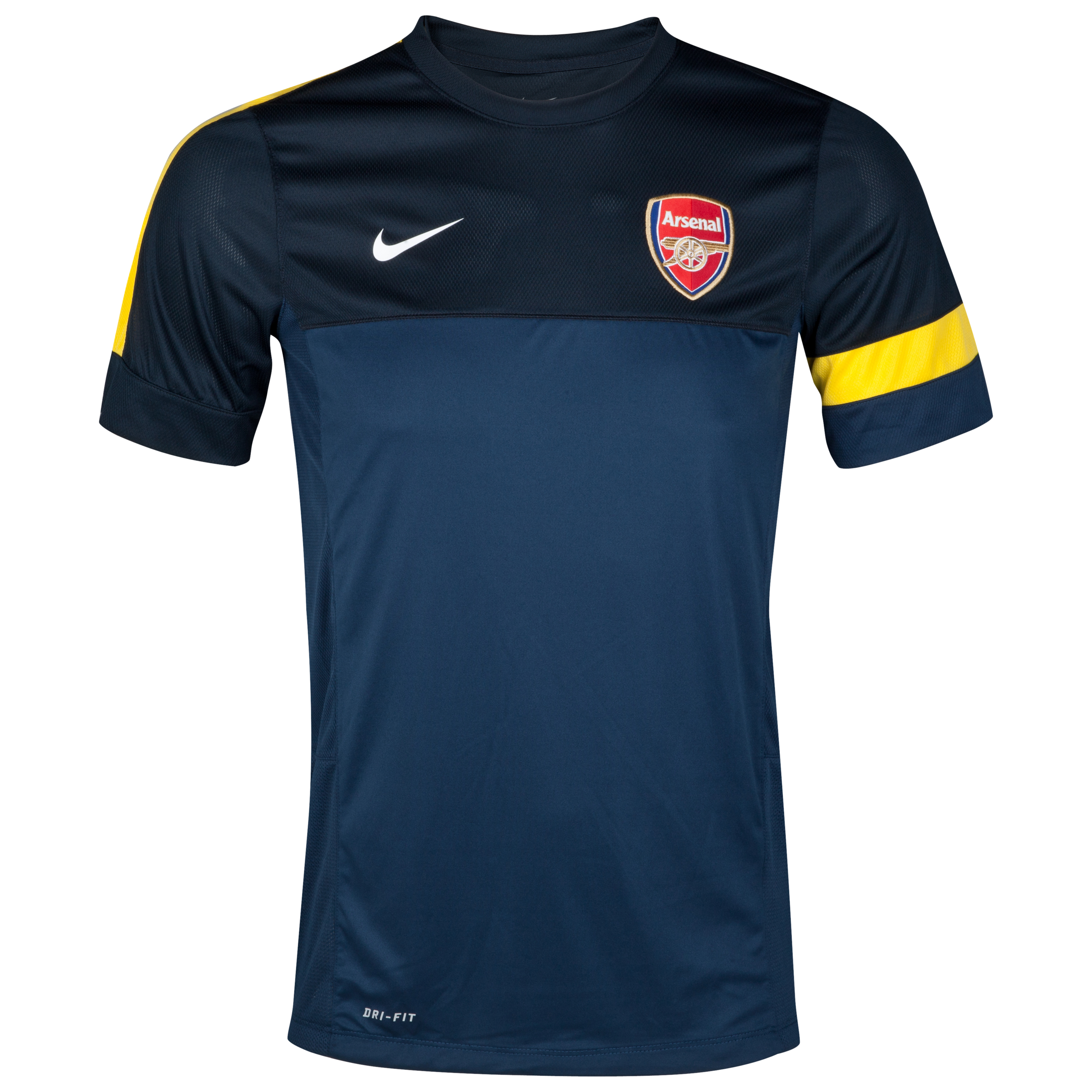 Arsenal Training Top 1 - Light Midnight/Dark Obsidian/White