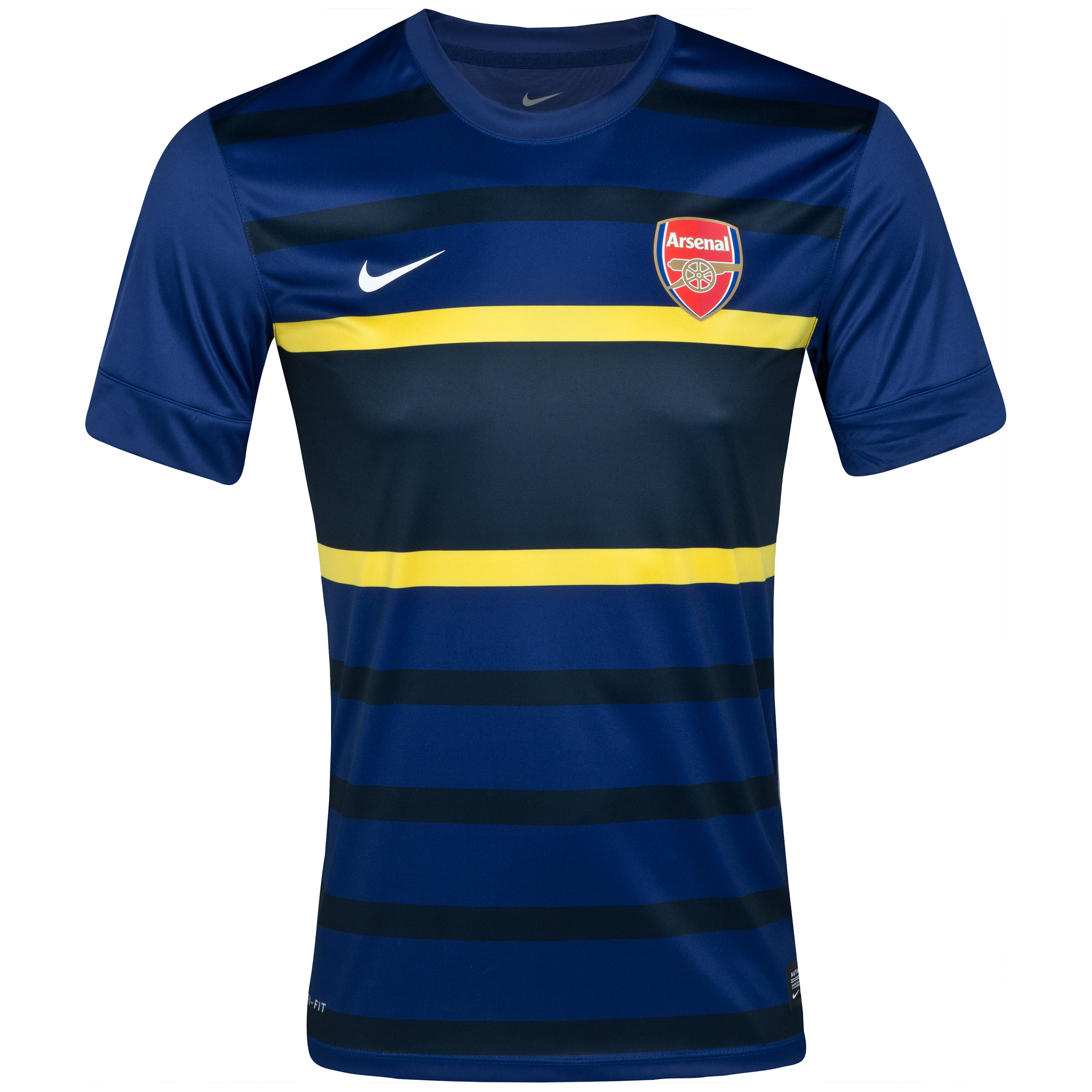 Arsenal Prematch Top 1 - Loyal Blue/Dark Obsidian/White