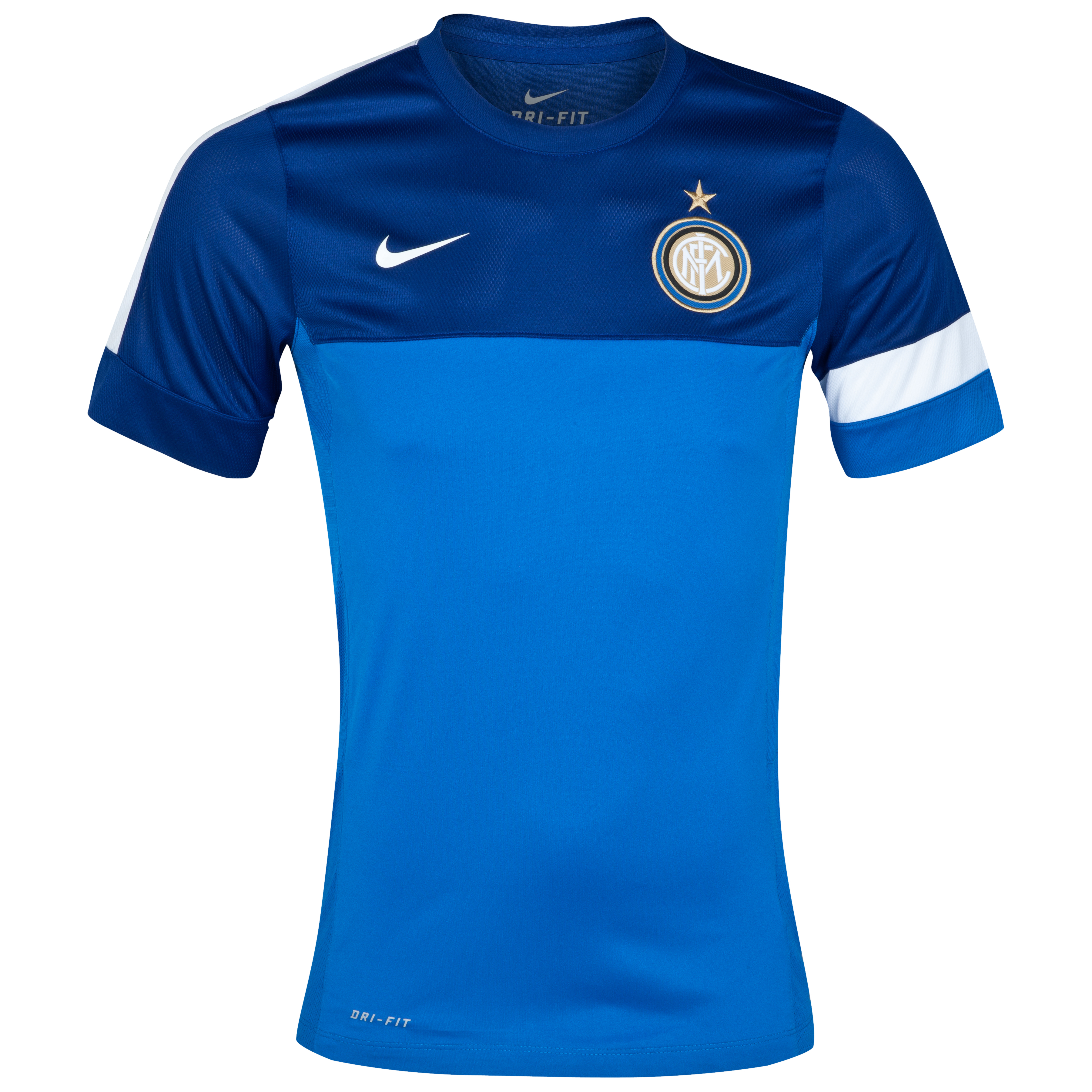 Inter Milan Training Top 1 - Signal Blue/Deep Royal Blue/White/White