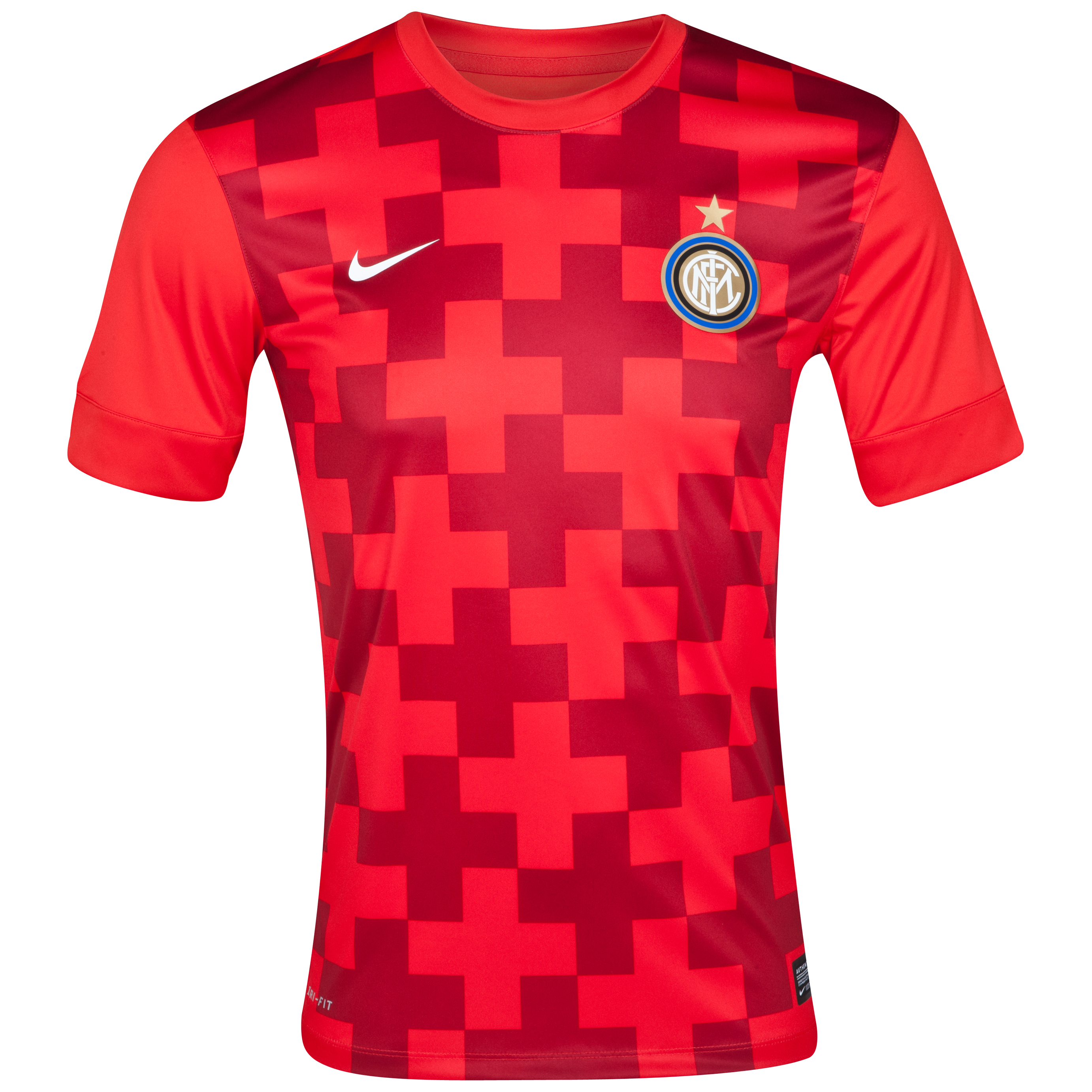 Inter Milan Prematch Top 1 - Challenge Red/White