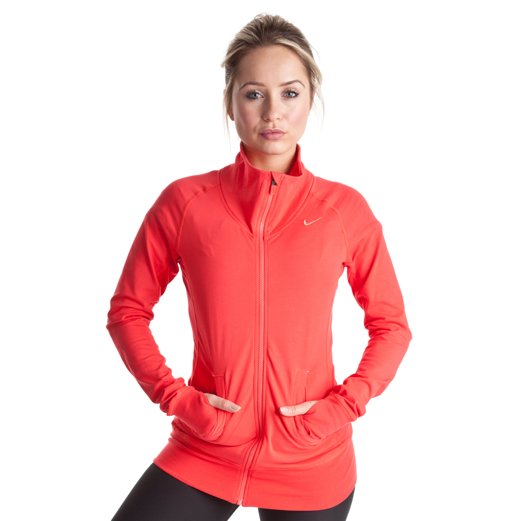 Nike Dry Fit Empire Jacket - Sunburst/Bright Peach - Womens