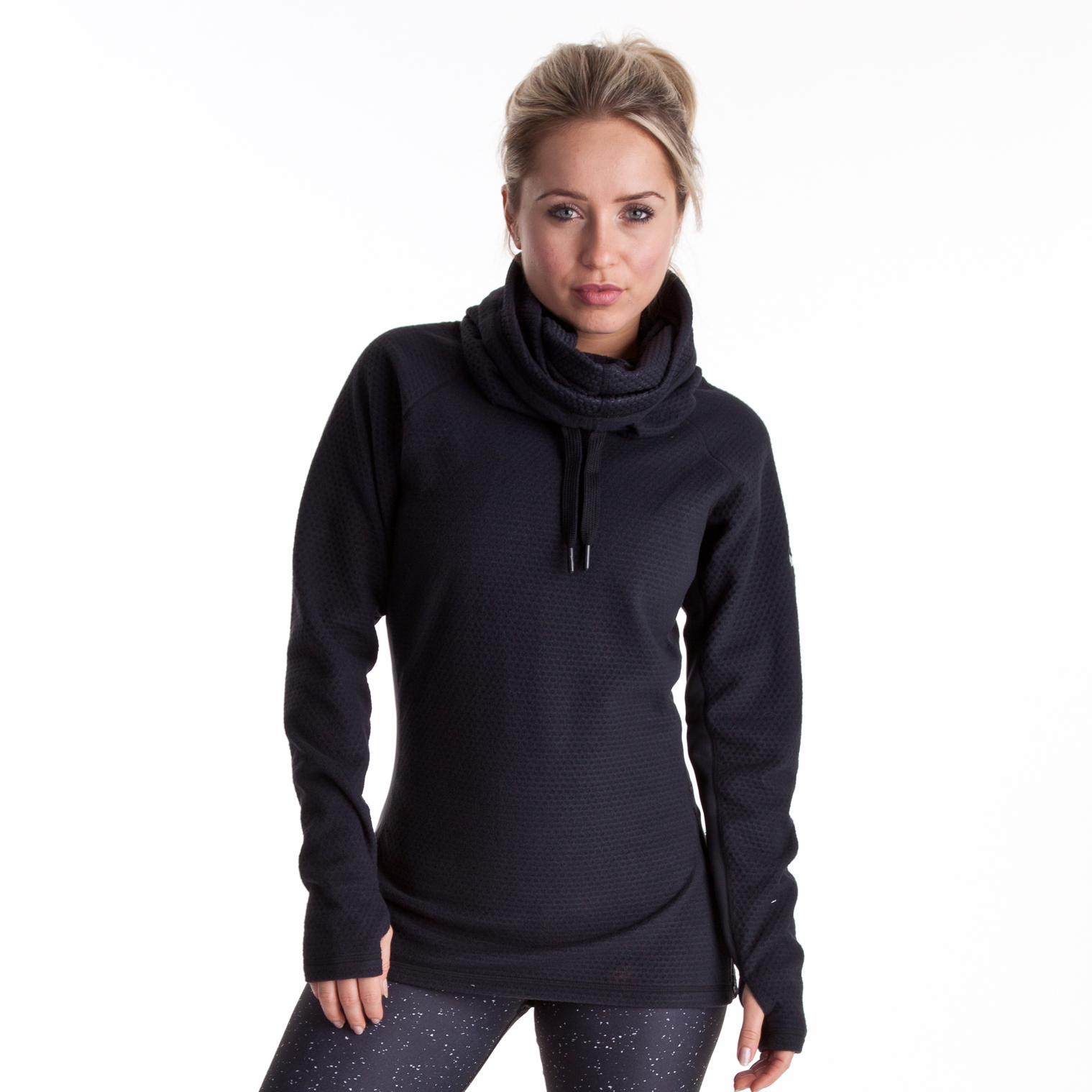 Nike Slouchy Sphere Hoody - Black/White - Womens