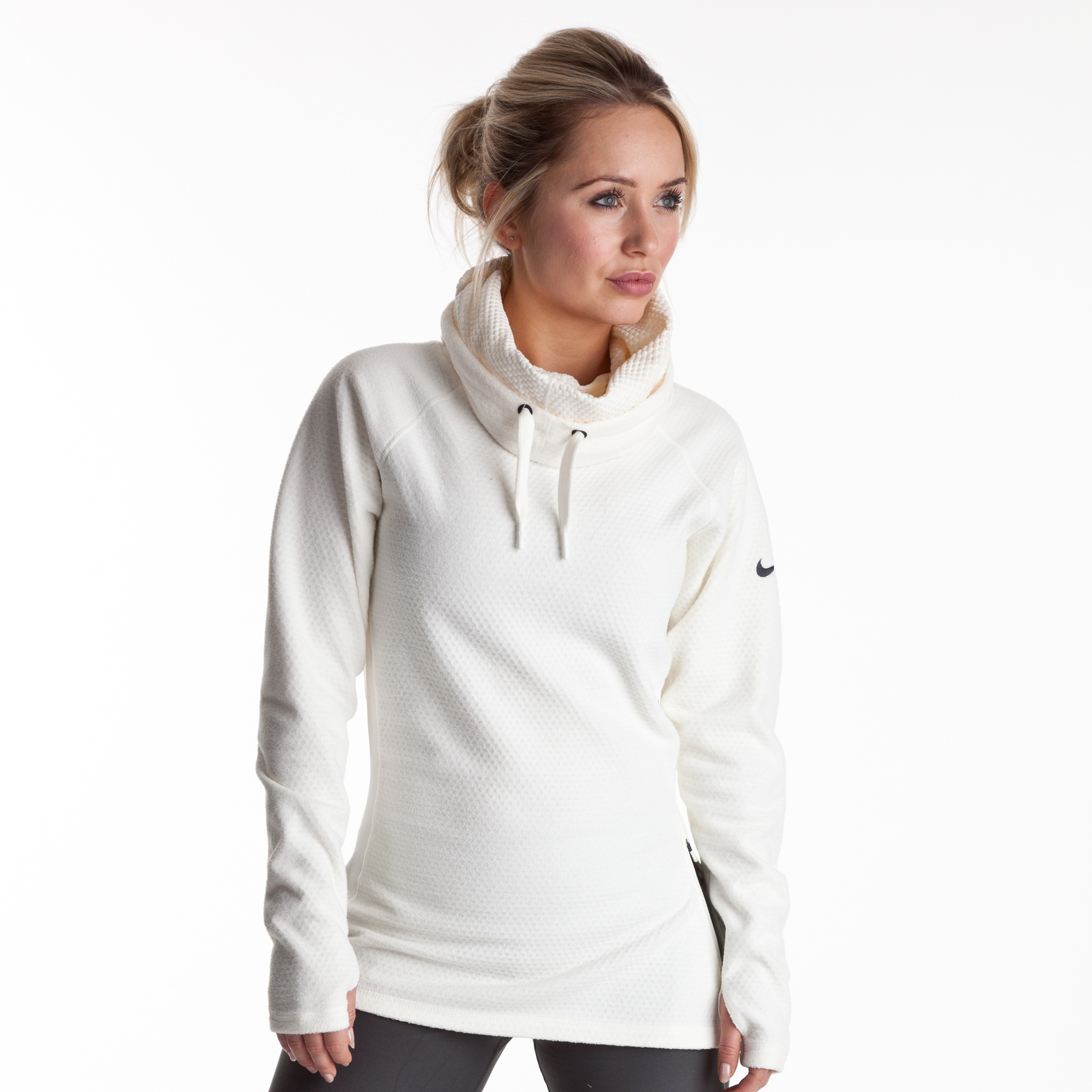 Nike Slouchy Sphere Hoody - Sail/Anthracite - Womens