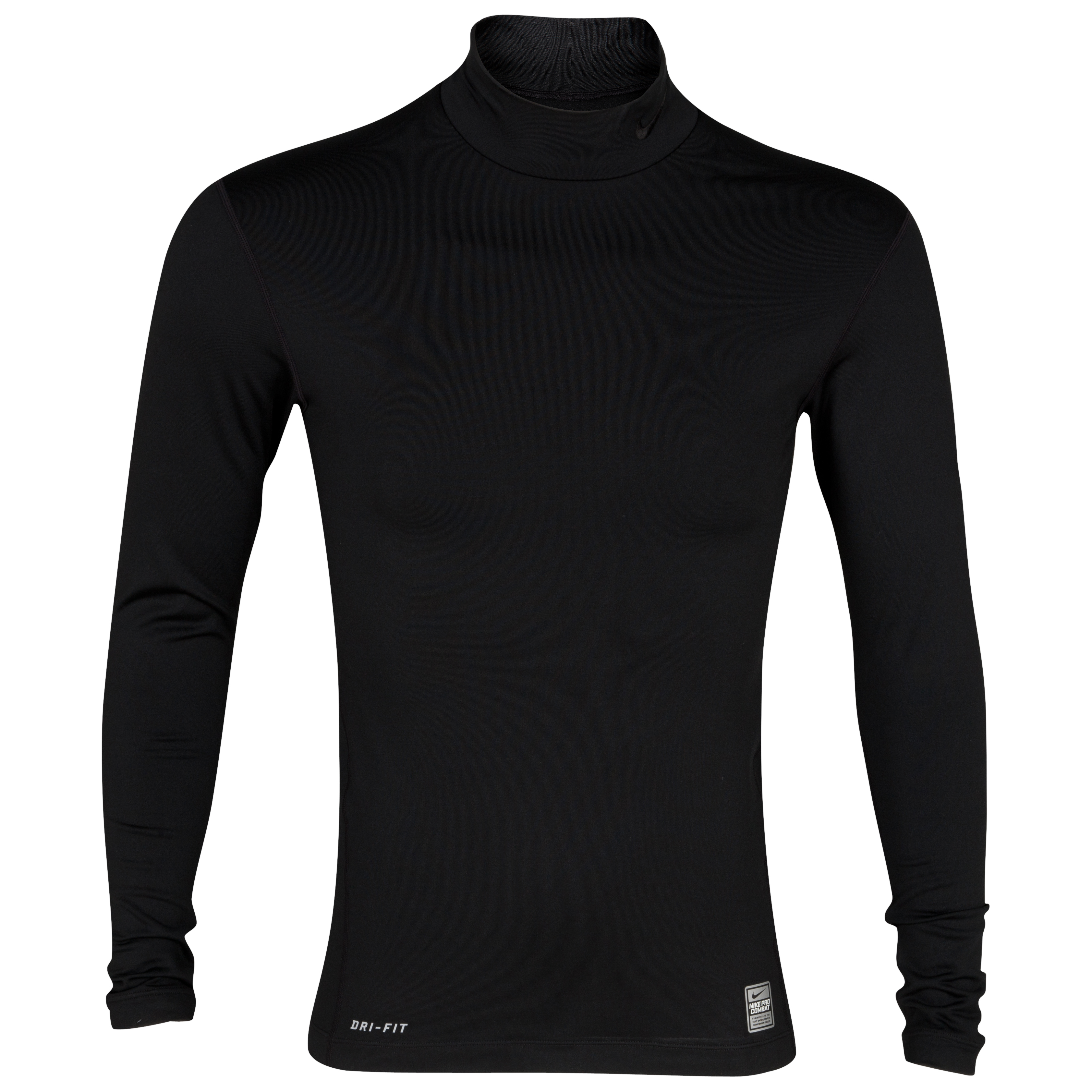Nike Hyperwarm Compression Mock - Black/Black