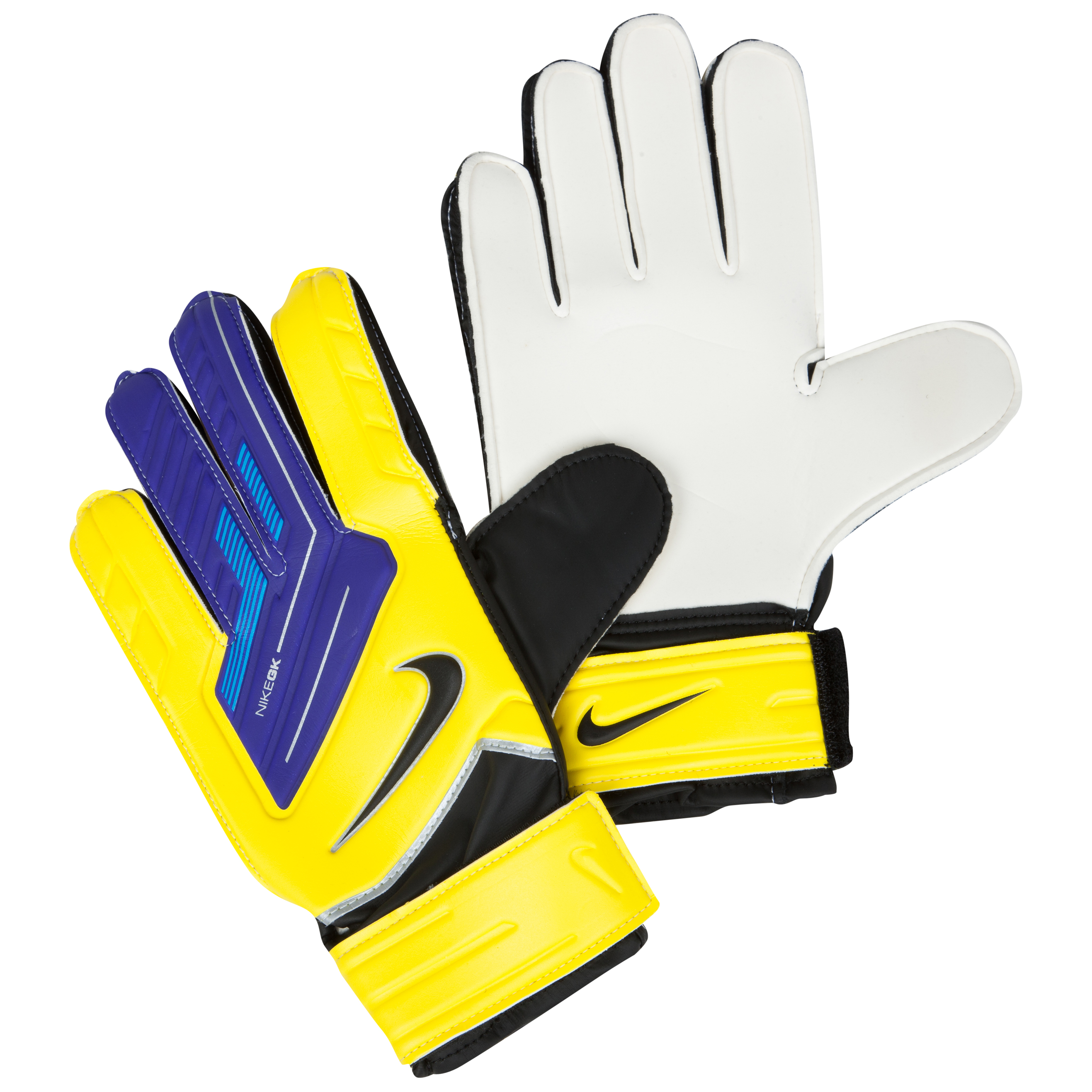 Nike Match Goalkeeper Gloves - Yellow/Purple/(Black)