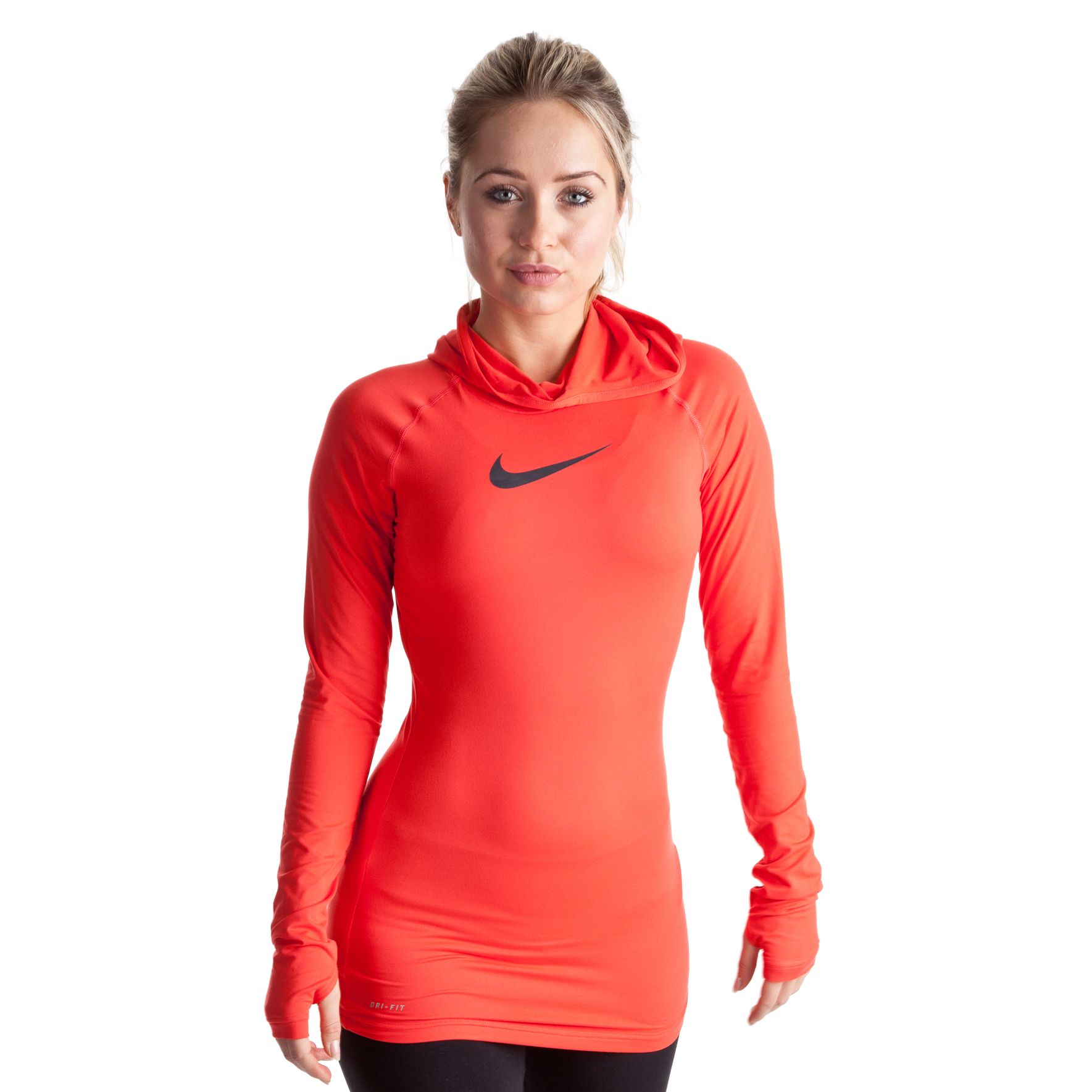 Nike Slim Sculpt Hoody - Sunburst/Anthracite - Womens