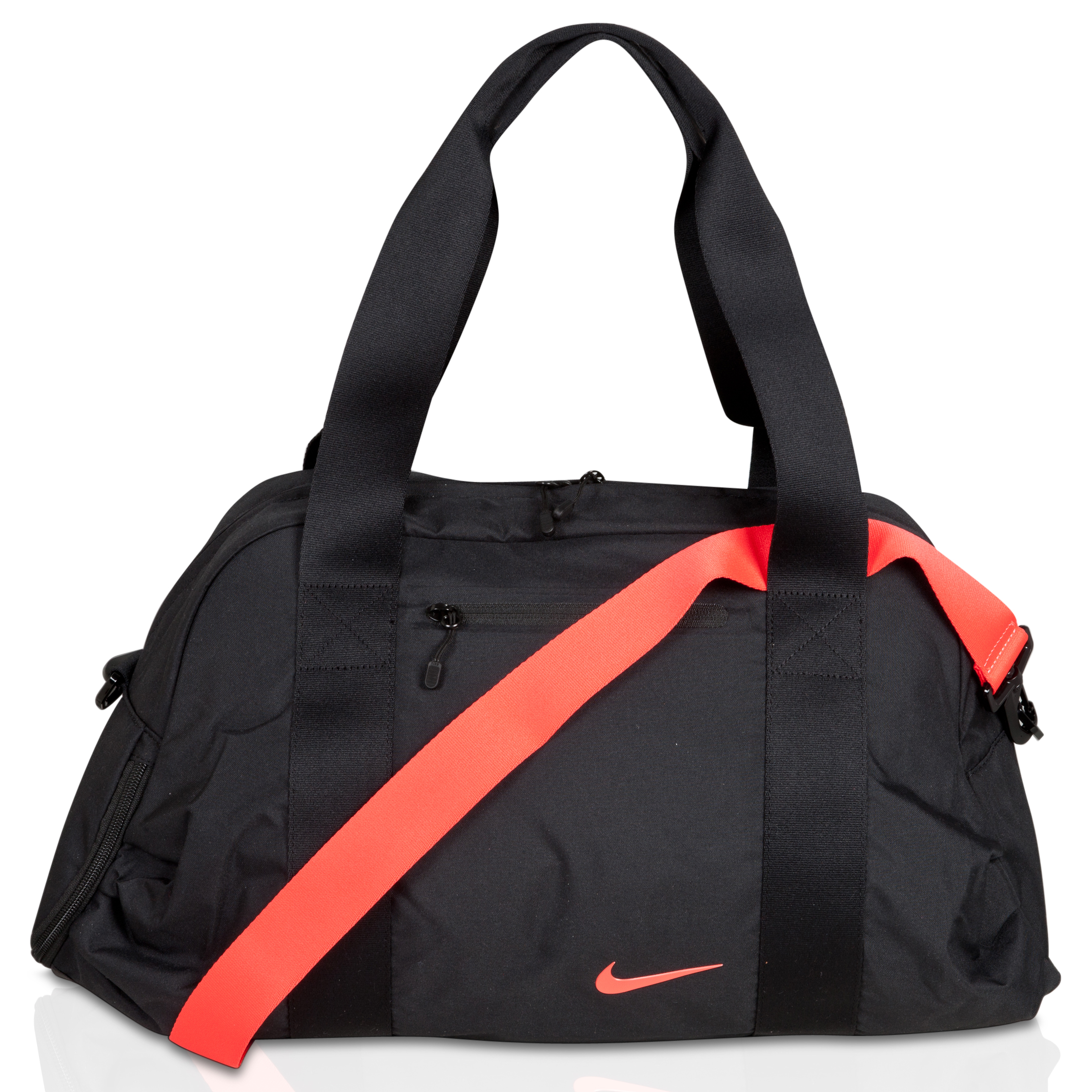 Nike C72 Legend Medium Bag - Black/Black/(Bright Crimson) - Womens