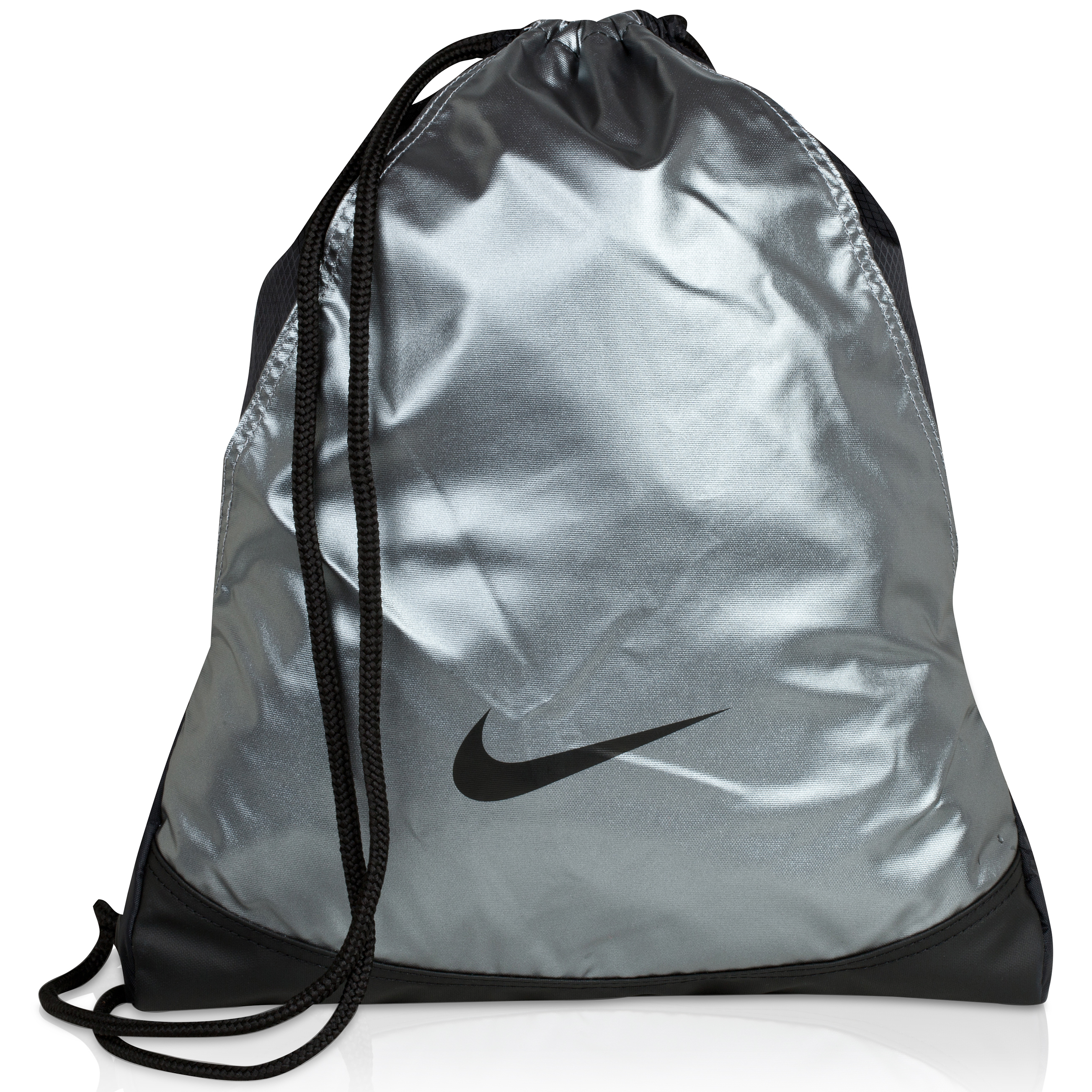 Nike Varsity Girl Gymsack - Mtlc Cool Grey/Black/(Black)