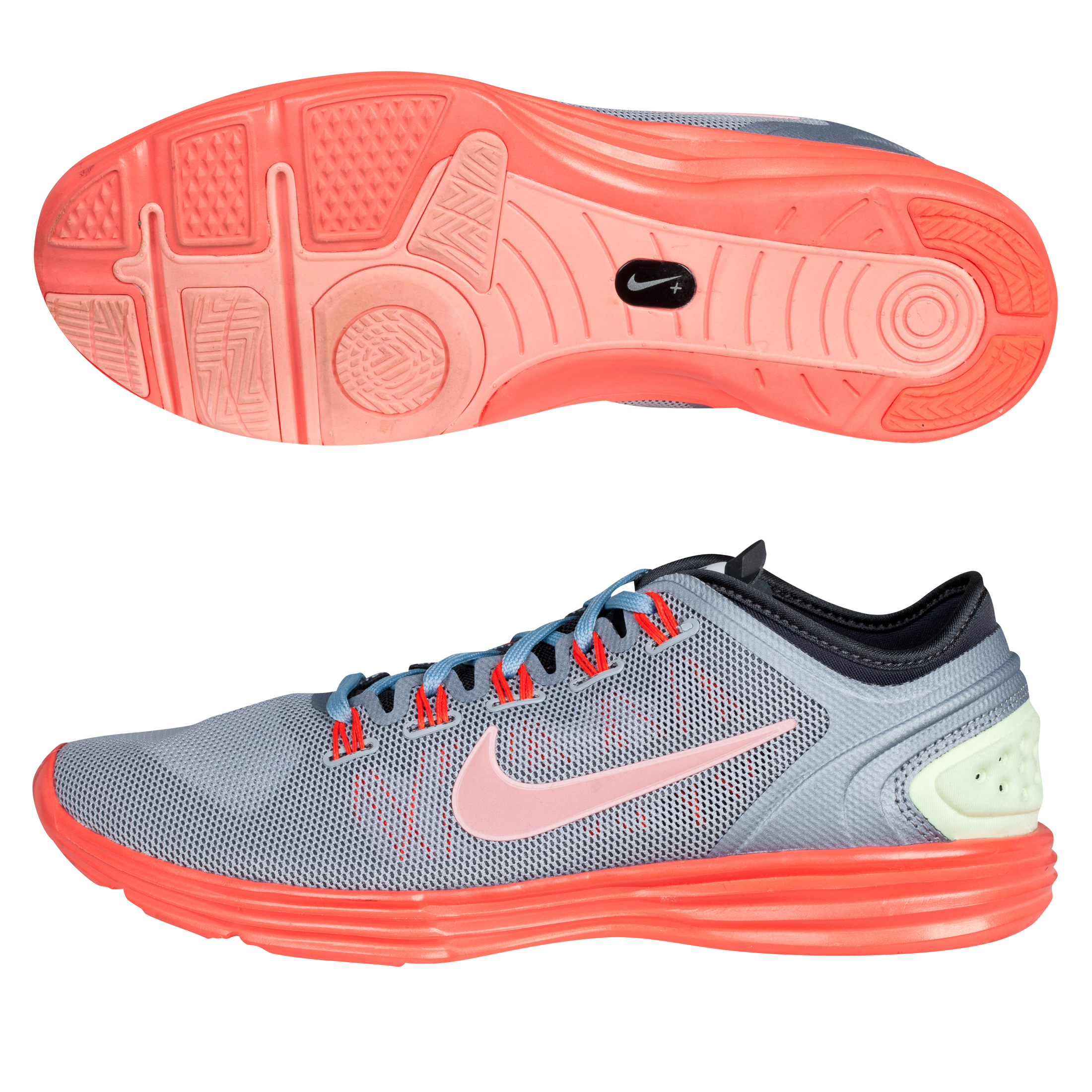Nike Lunar Hyperworkout Xt+ Wlf Gry/Brght Pch-Anthrct-Brgh - Womens