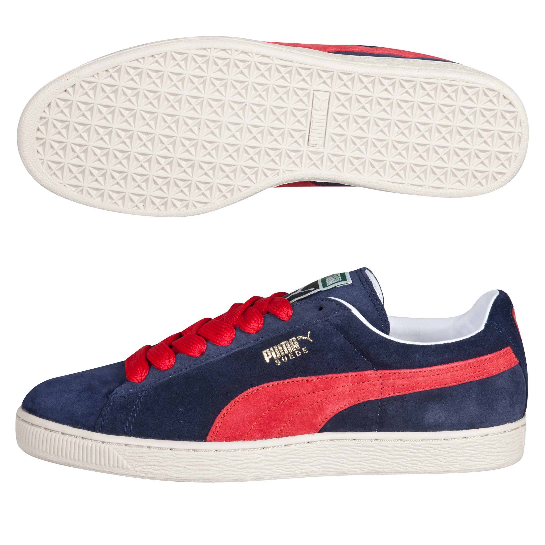 Puma Suede Classic Eco - Peacoat/Ribbon Red/Birch