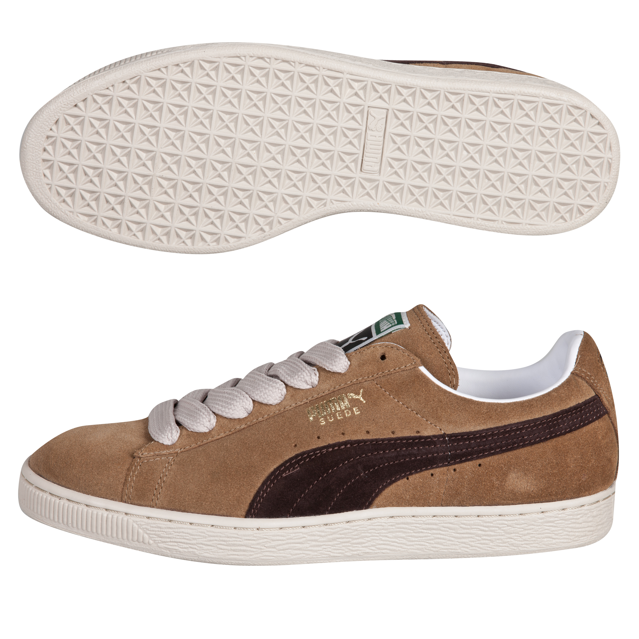 Puma Suede Classic Eco - Ermine/Black Coffee