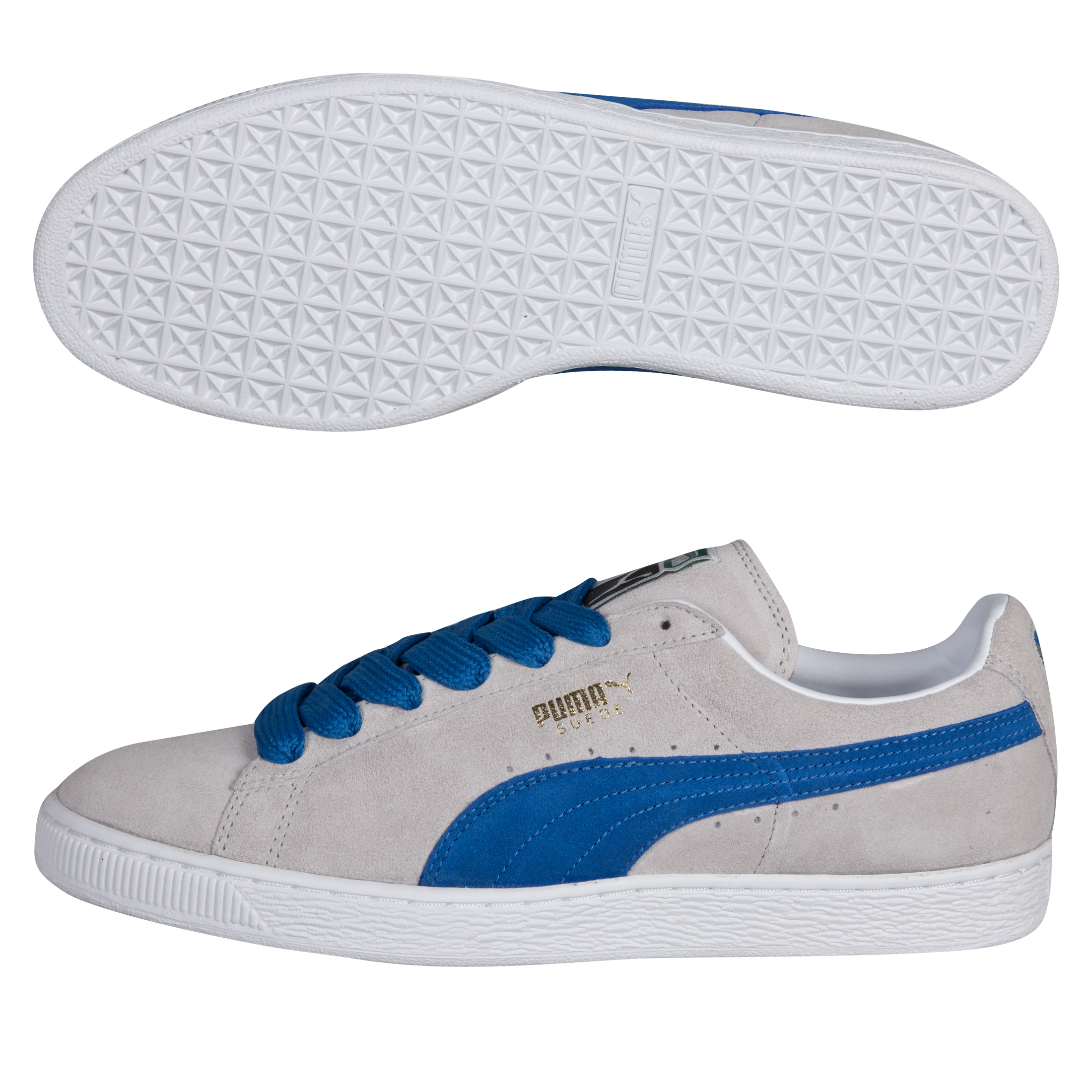 Puma Suede Classic Eco - Limestone Gray/Puma Royal