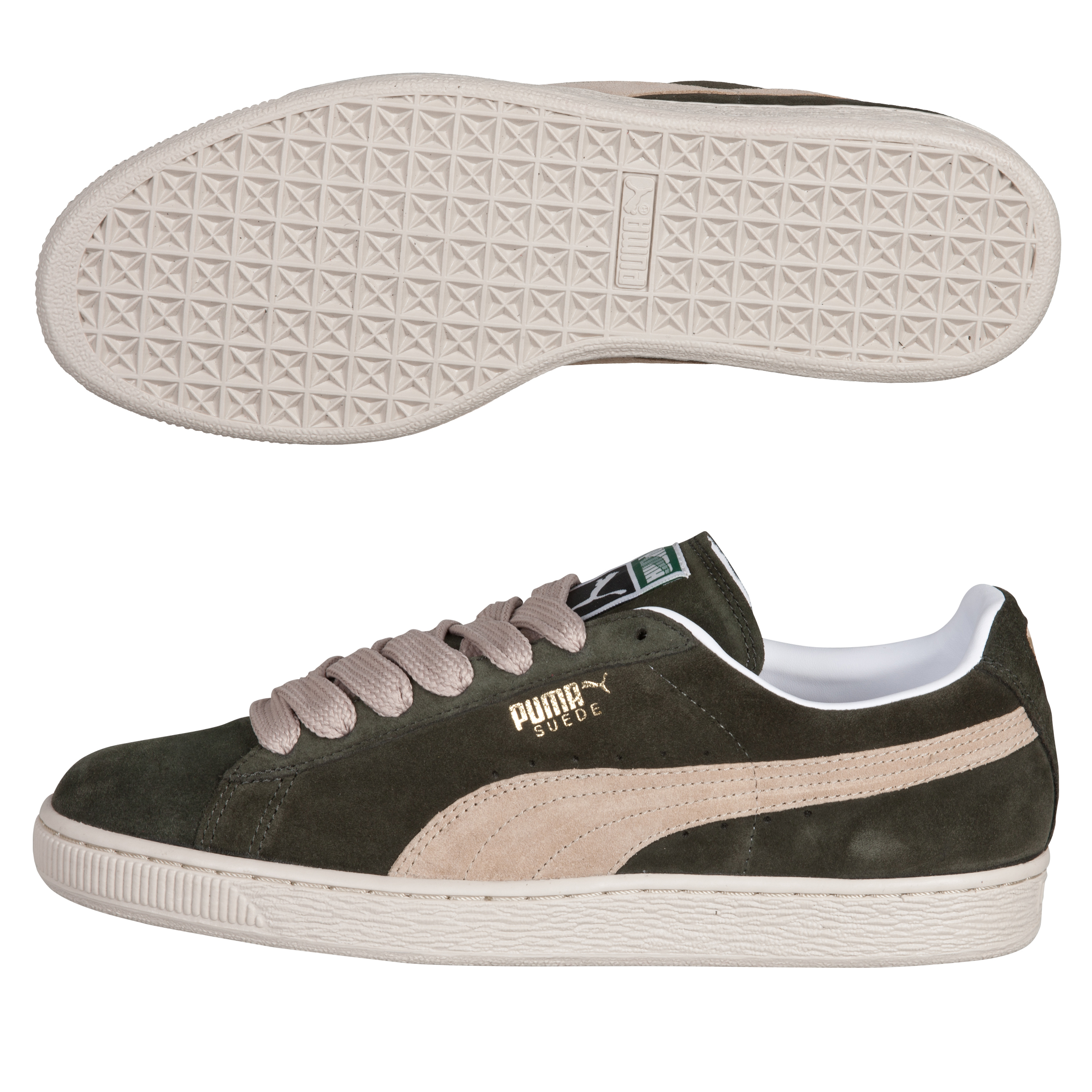 Puma Suede Classic Eco - Forest Night/Puma Khaki