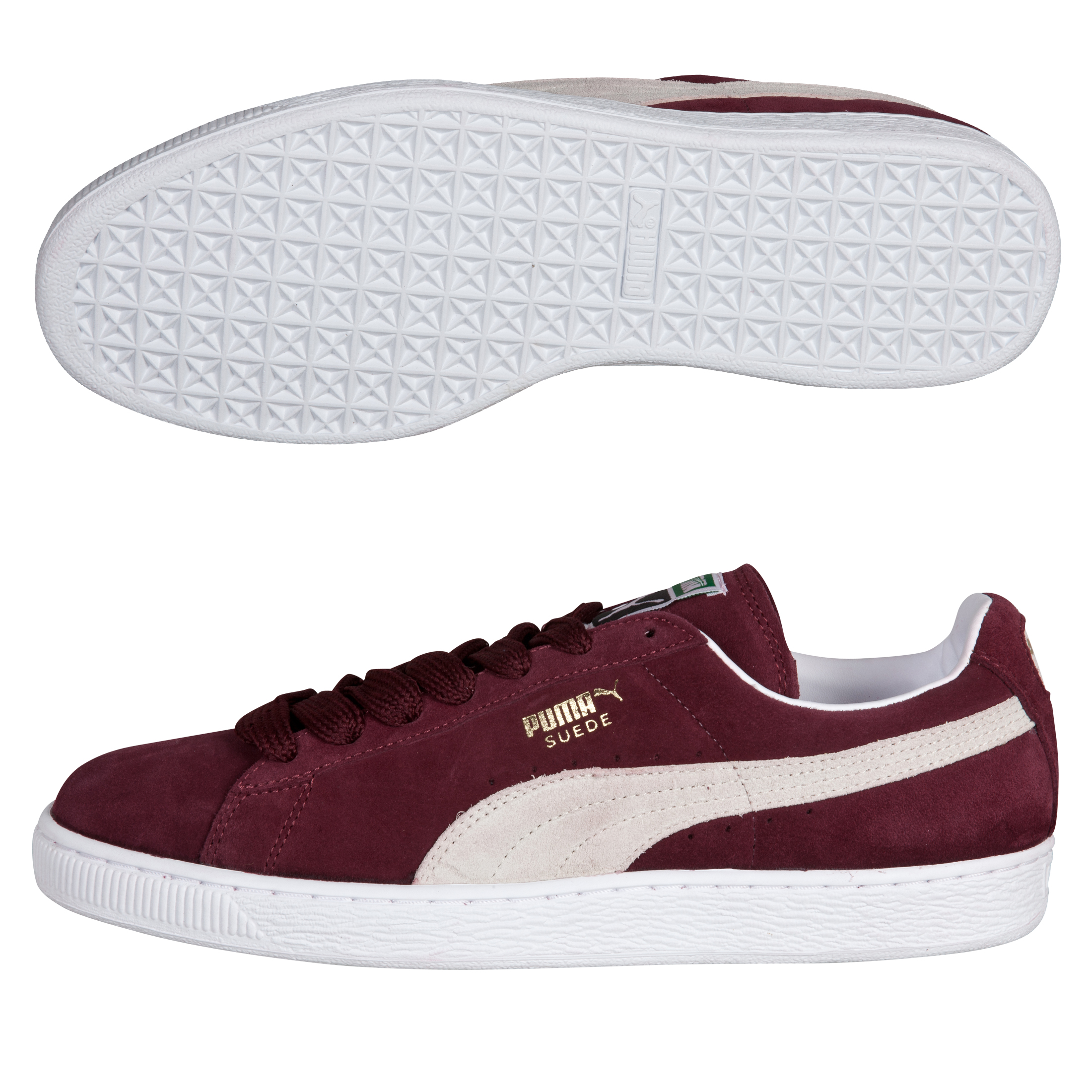 Puma Suede Classic - Team Burgundy/White/Team Gold