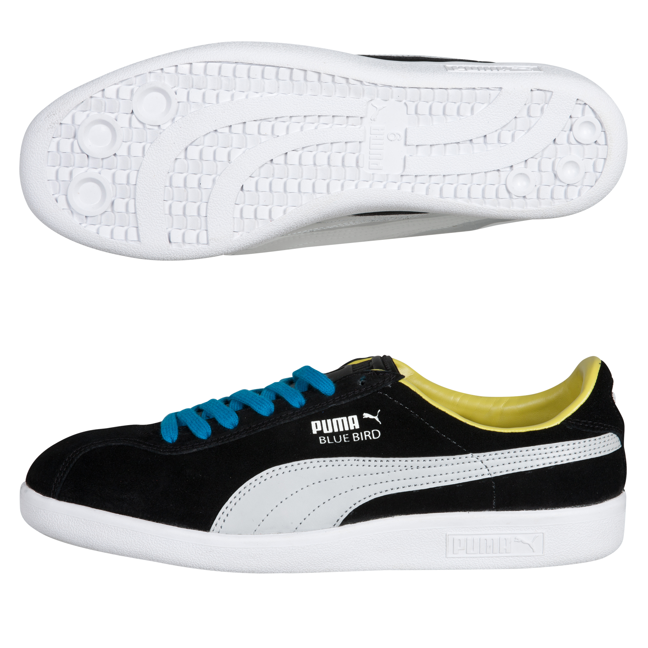 Puma Bluebird - Black/Wind Chime Gray/White