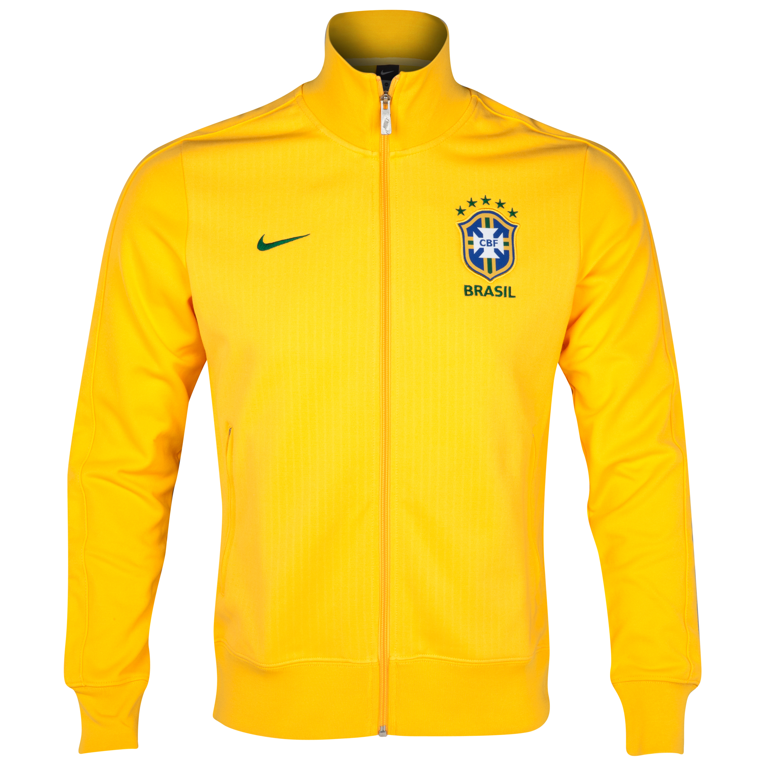Brazil N98 Jacket - Varsity Maize/Pine Green