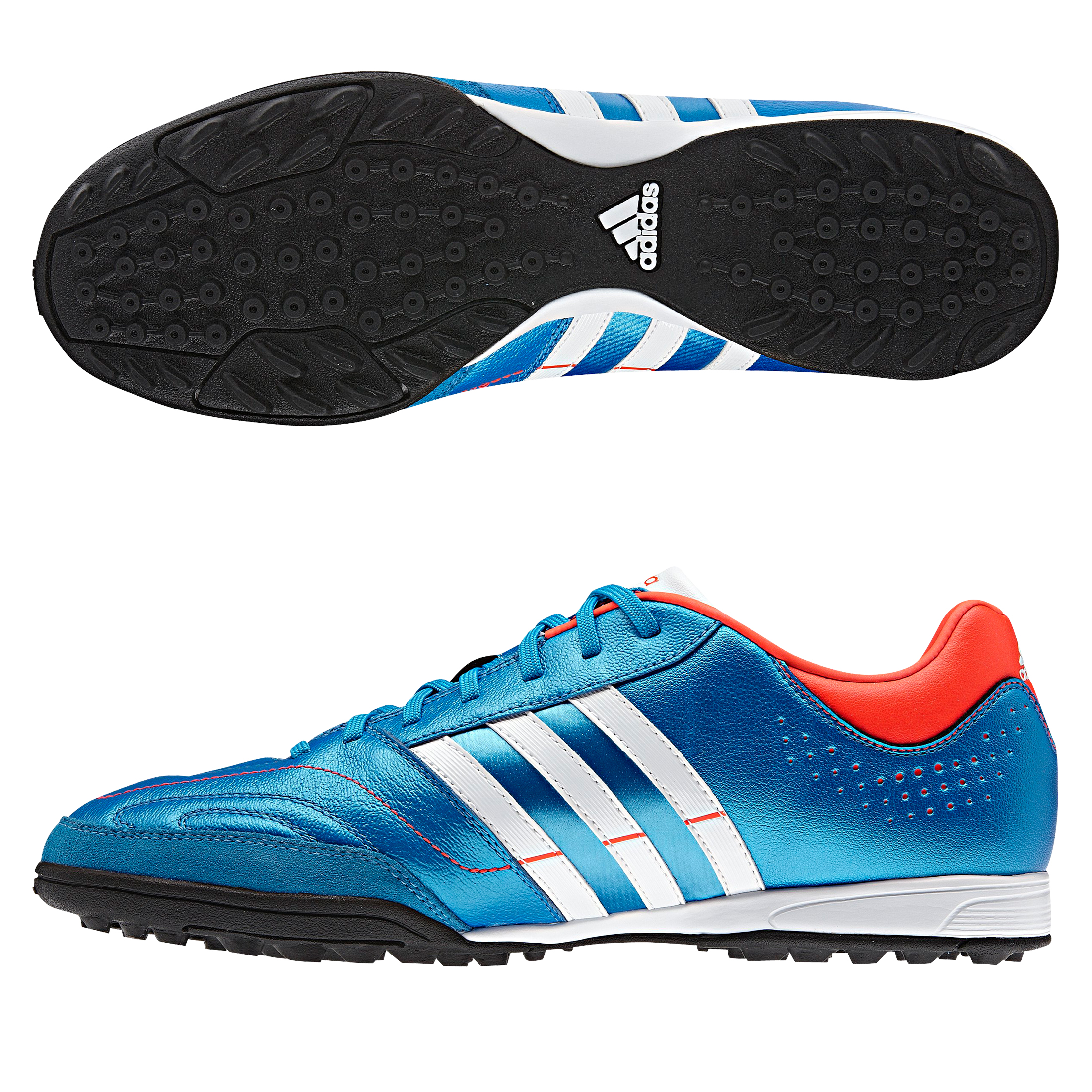 Adidas 11Nova TRX Astro Turf Trainers - Bright Blue/Running White/Infrared