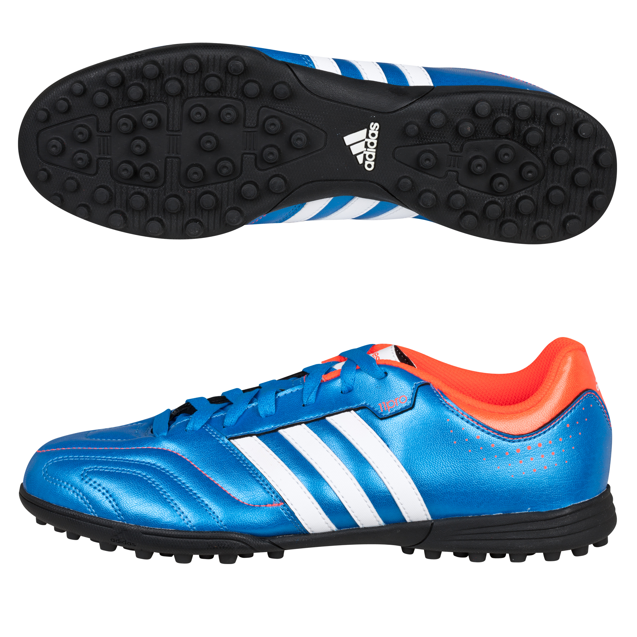 Adidas 11Questra TRX Astro Turf Trainers - Bright Blue/Running White/Infrared
