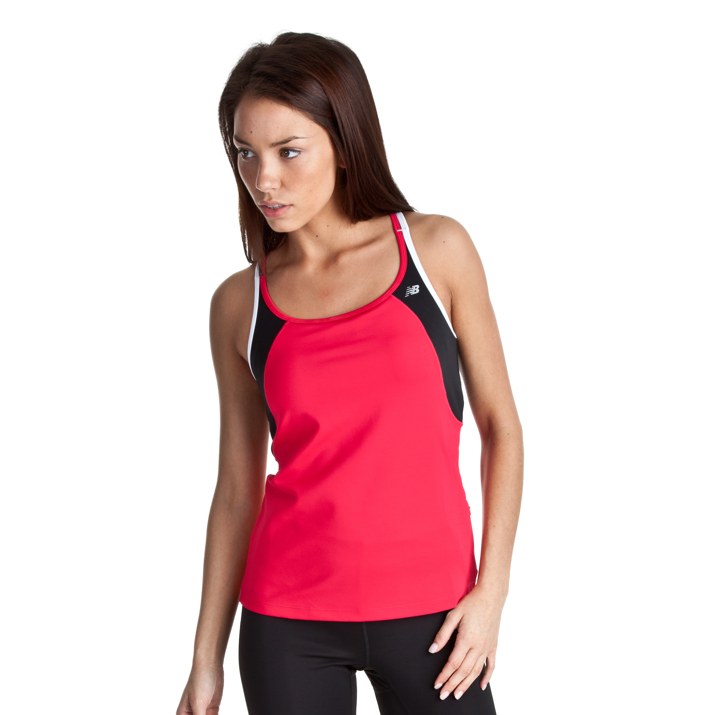 New Balance Tonic Top - Vibrant Pink - Womens