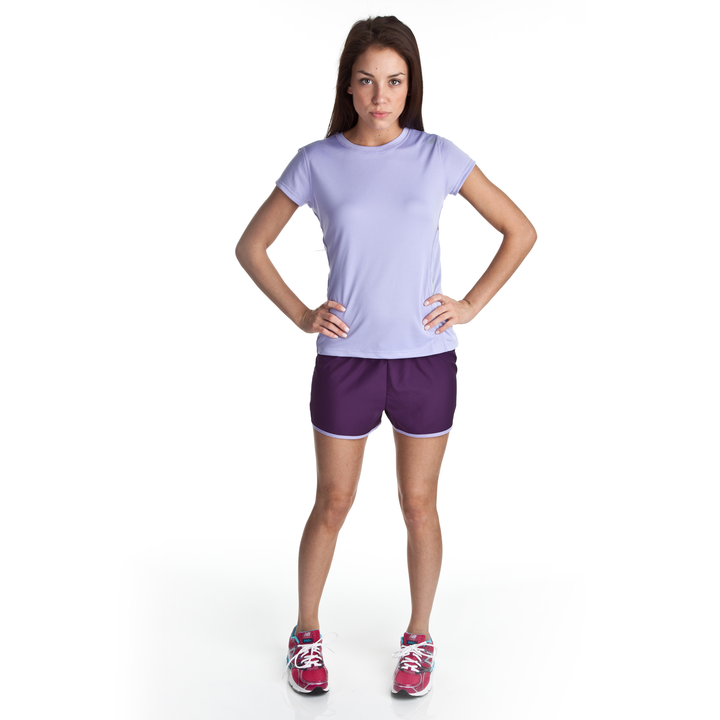 New Balance Short - Blackberry Cordial - Womens
