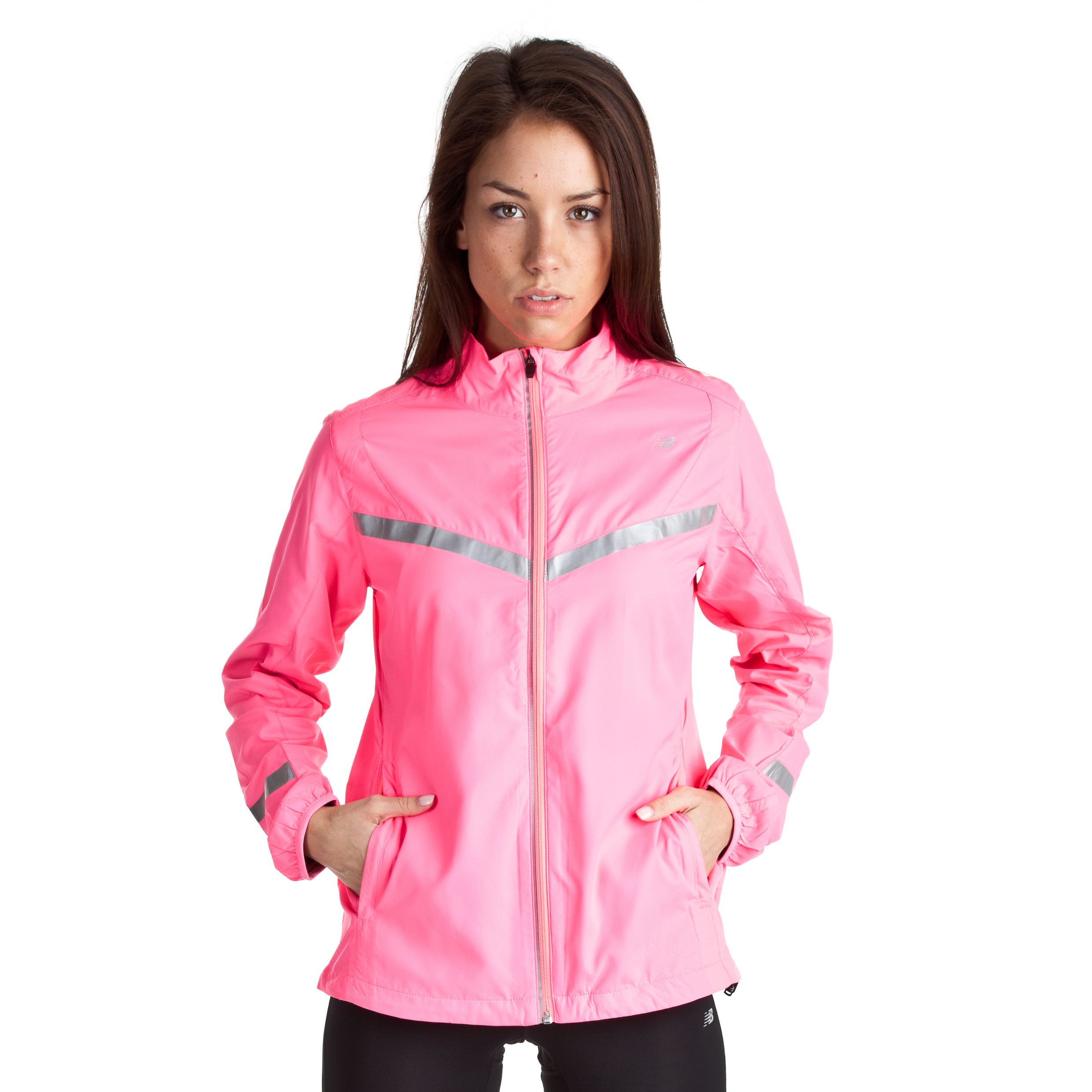 New Balance 360 Jacket - Pink - Womens