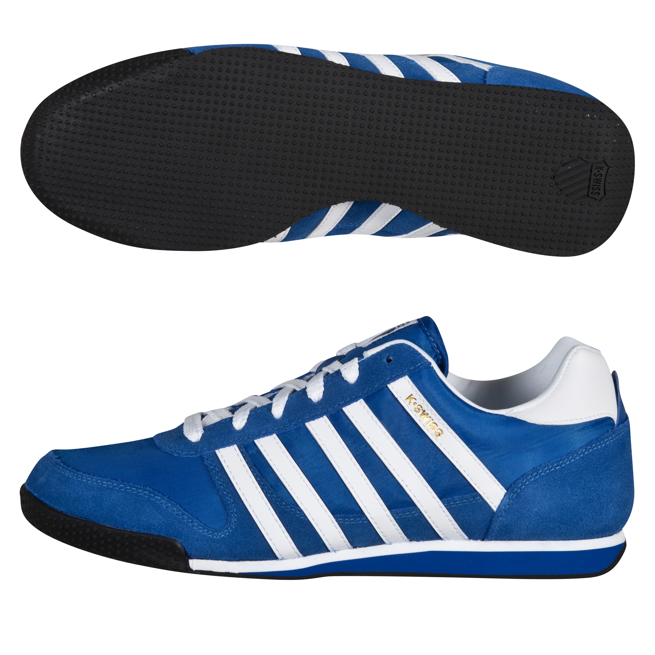 K-Swiss Whitburn Trainers - Blue/White