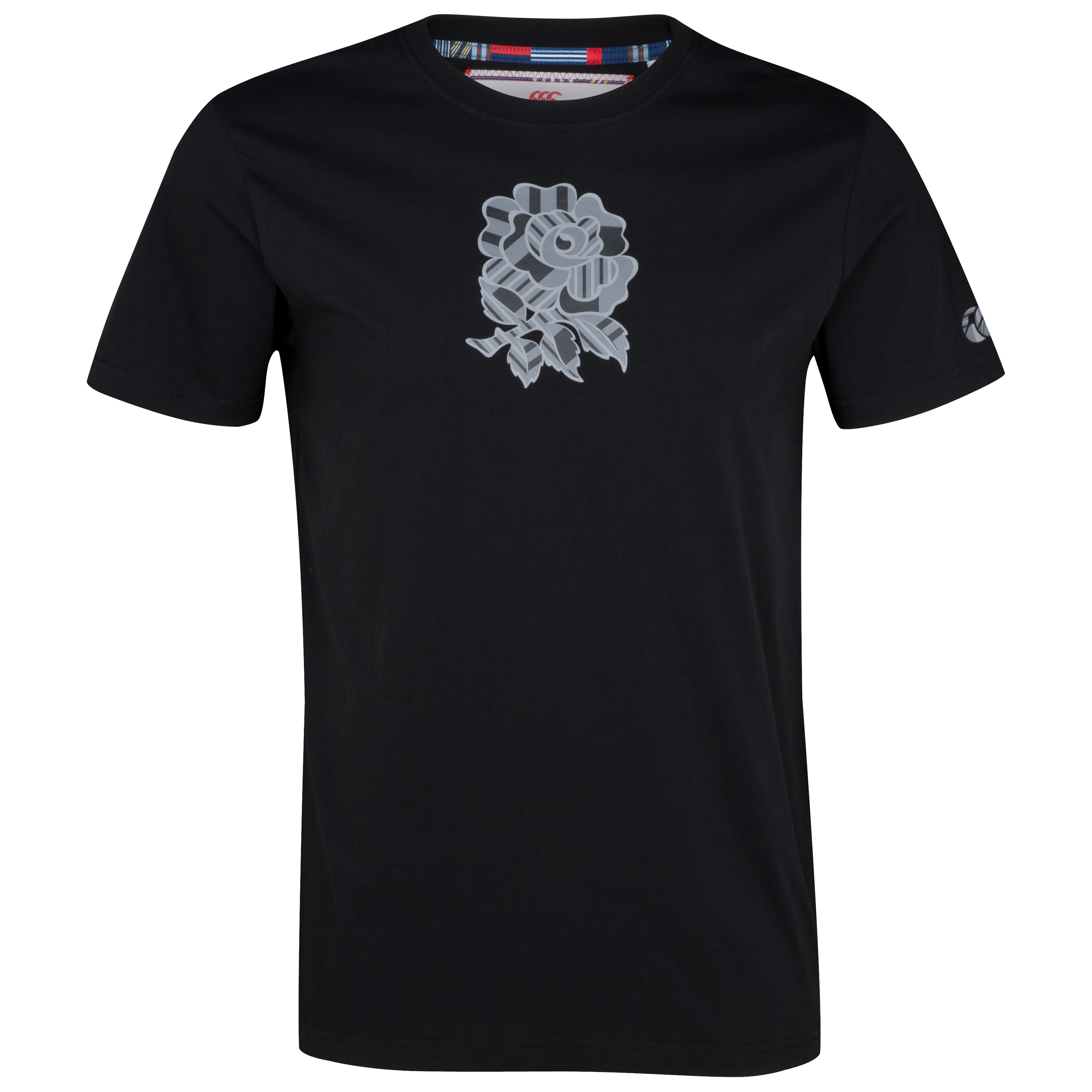 England Uglies Tonal Cotton T-Shirt - Black