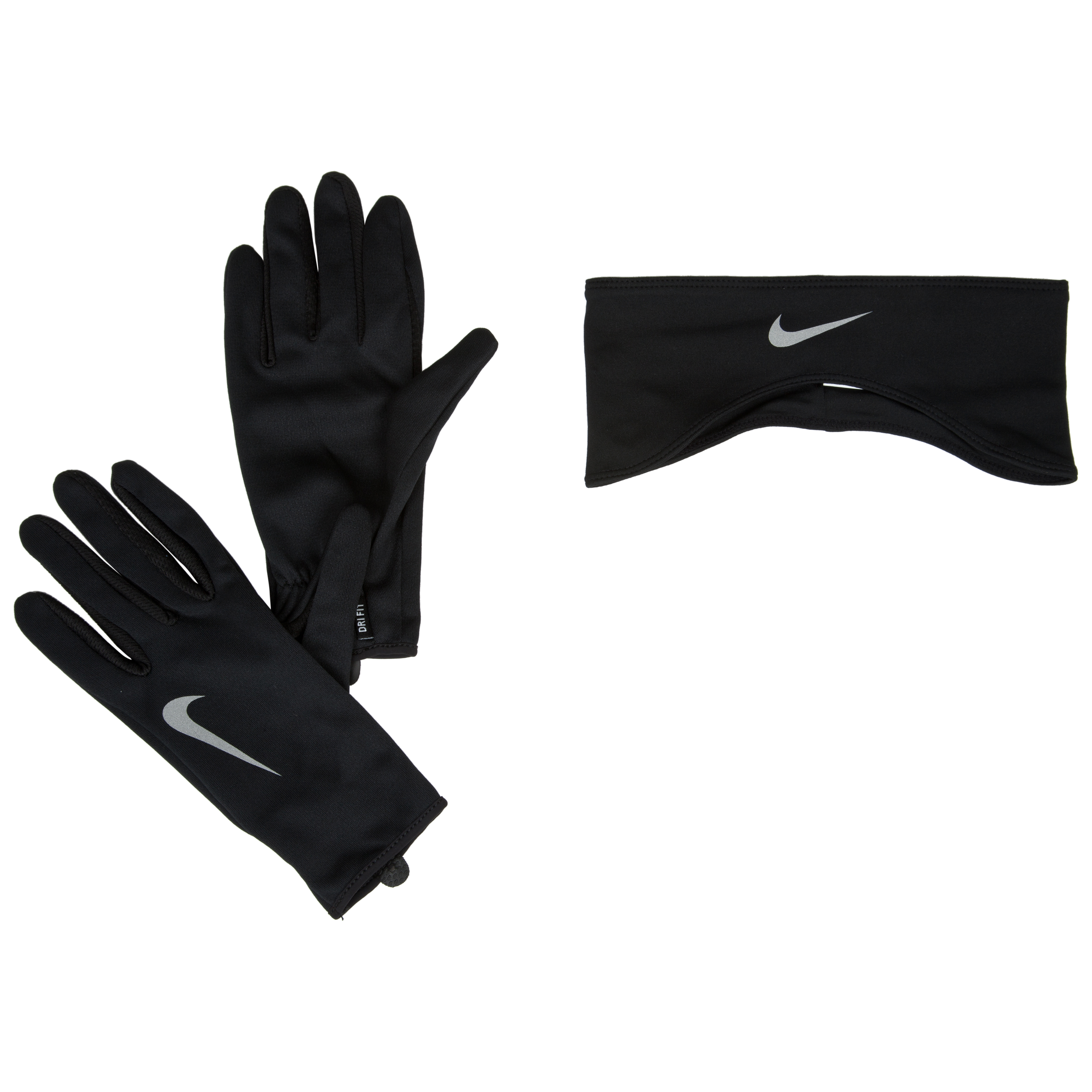Nike Womens Running Dri-Fit Glove/Headband Set