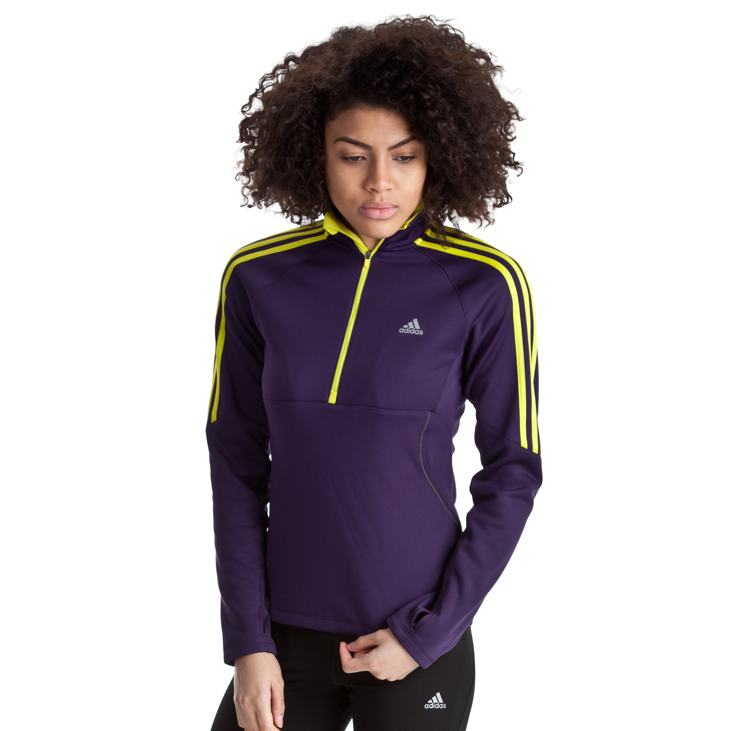 Adidas Response Long Sleeve Zip - Womens
