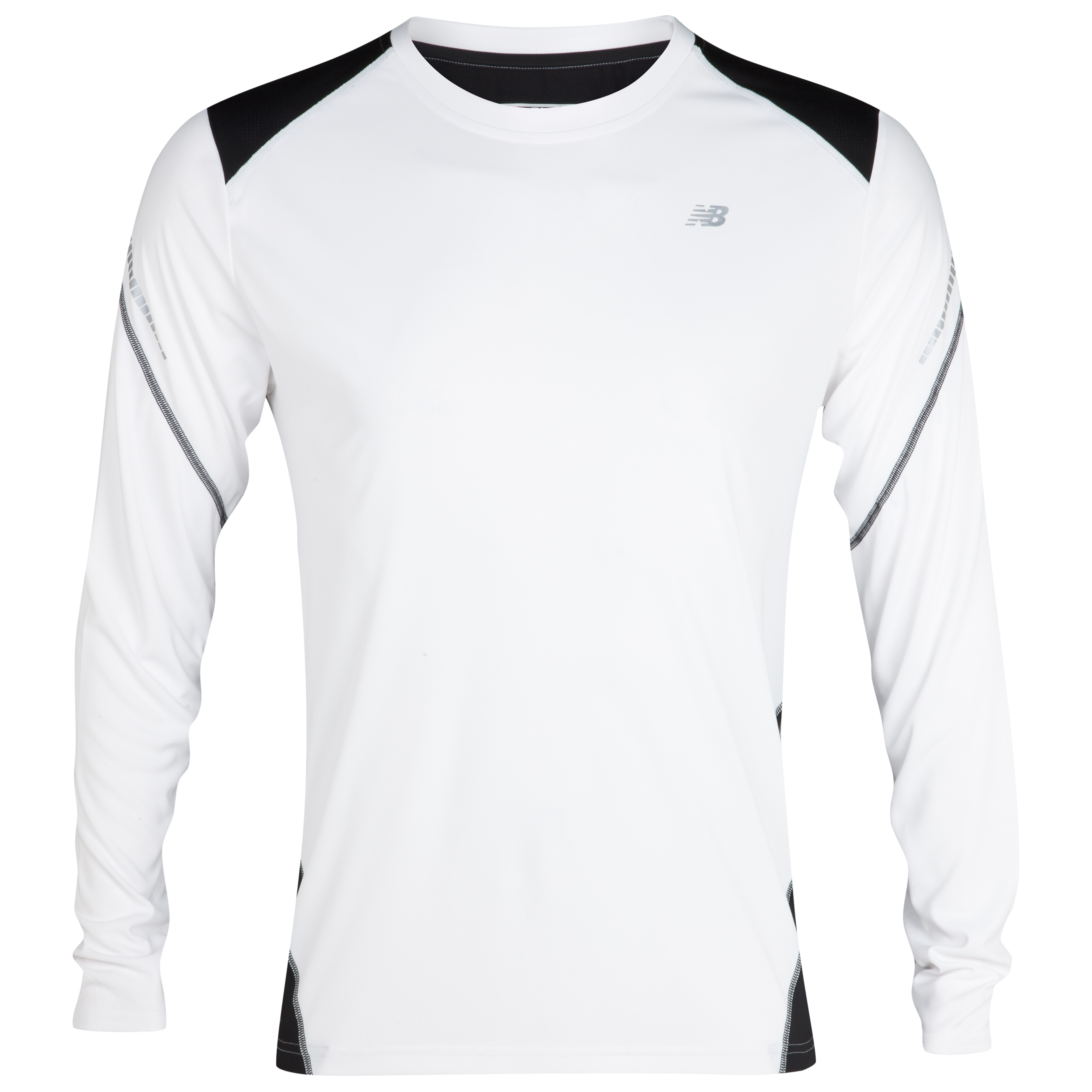 New Balance Icefil LS T-Shirt - White