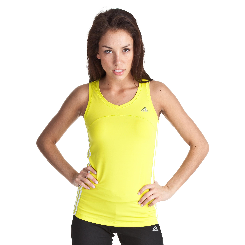 Adidas Climacool Training Core Tank - Lab Lime/White - Womens