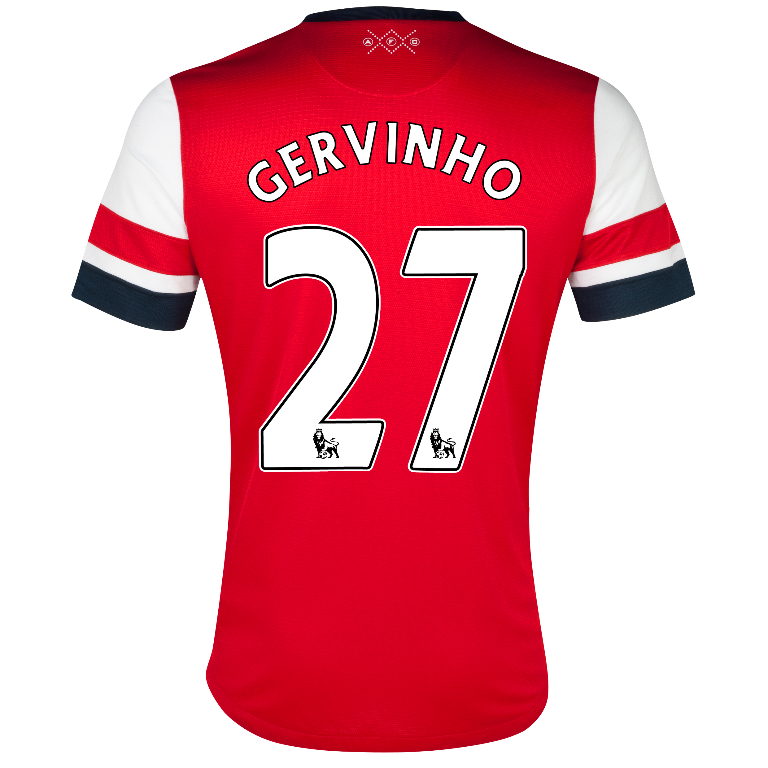 Arsenal Home Shirt  2012/13  with Gervinho 27 printing
