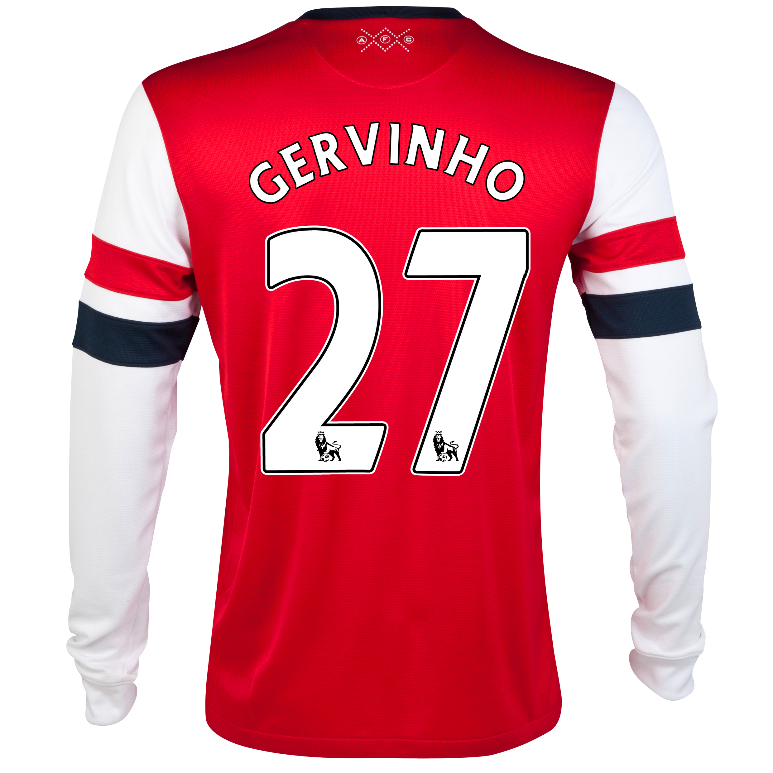 Arsenal  Home Shirt 2012/13 - Long Sleeve with Gervinho 27 printing