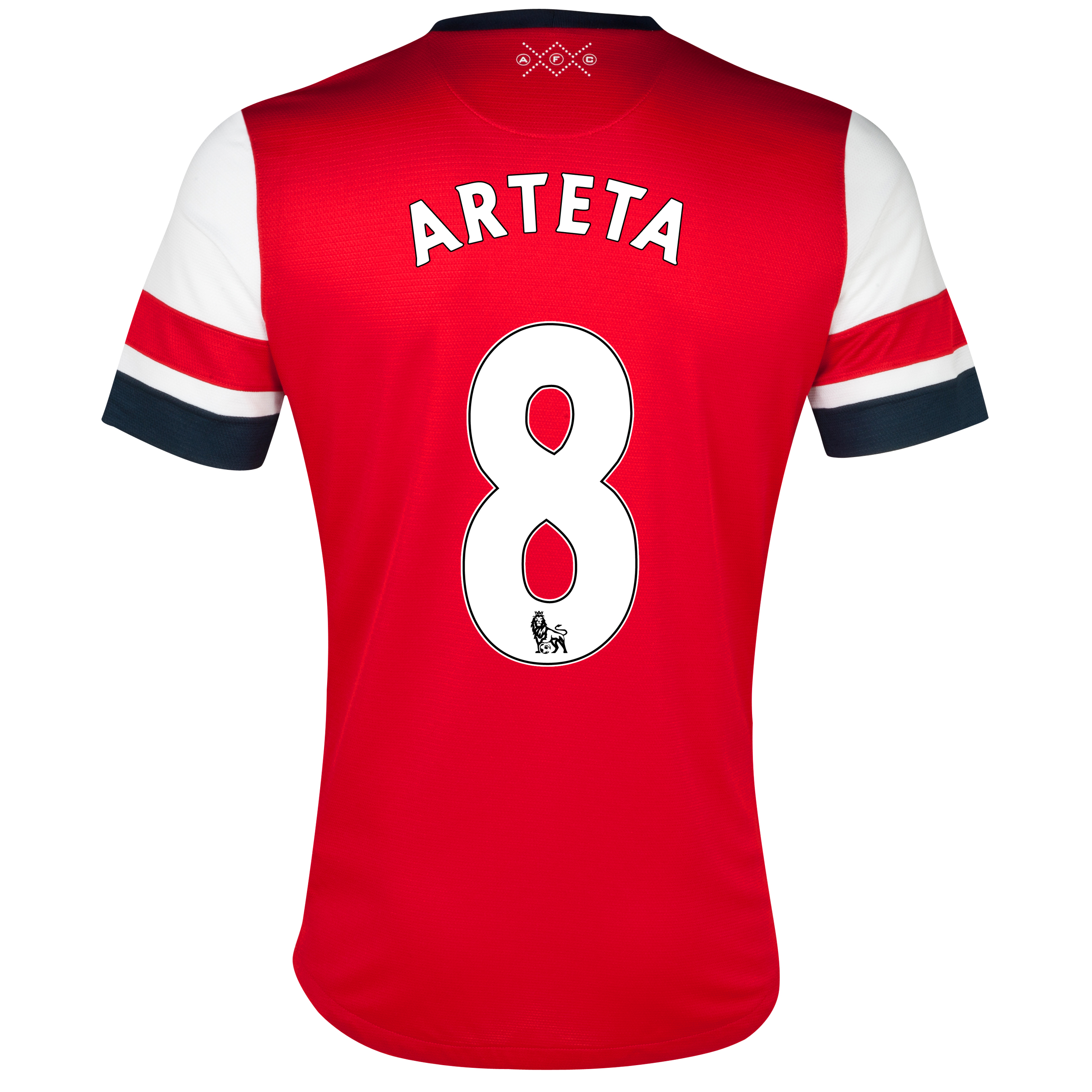 Arsenal Home Shirt 2012/13- Womens with Arteta 8 printing