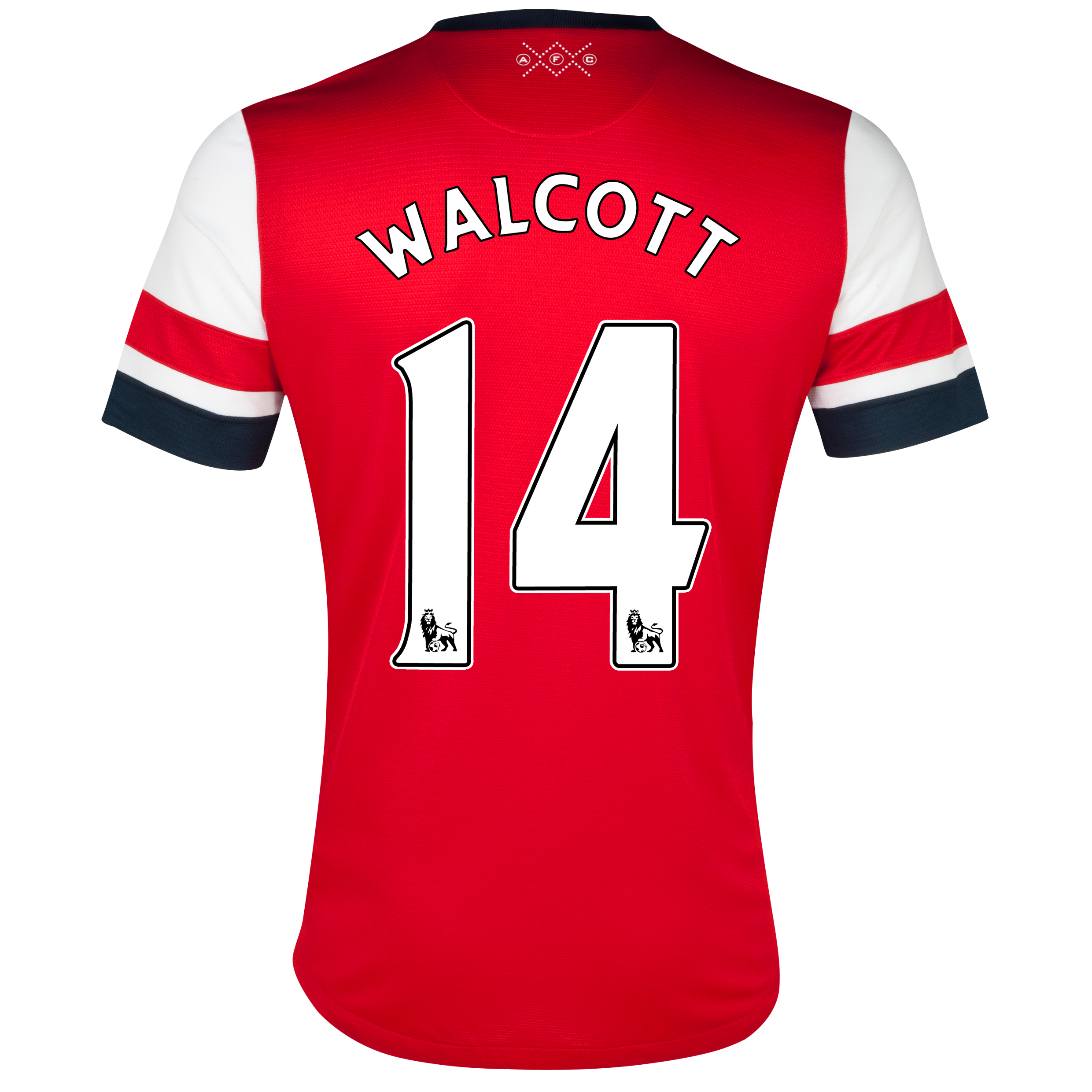 Arsenal Home Shirt 2012/13 - Womens with Walcott 14 printing