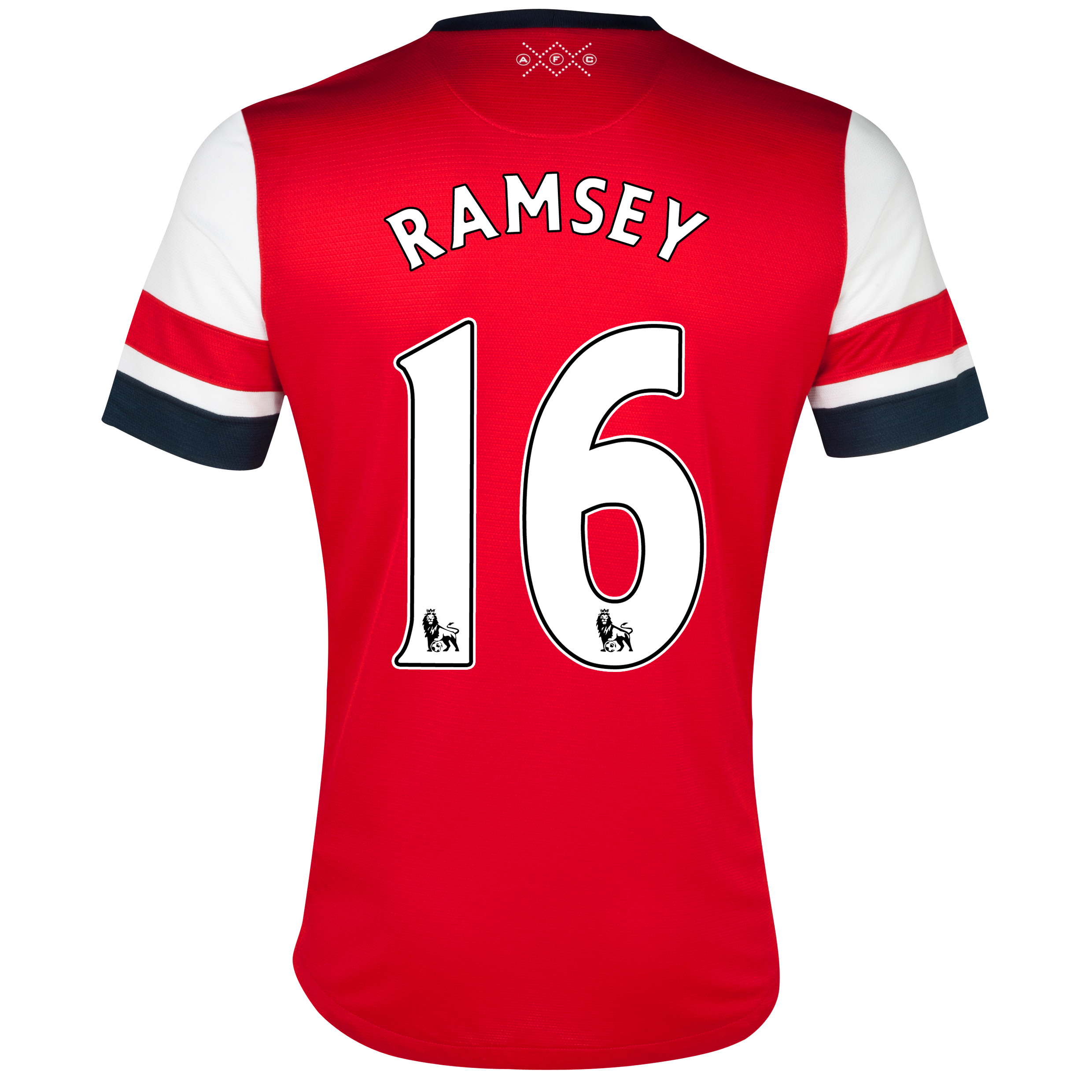 Arsenal  Home Shirt 2012/14 - Womens with Ramsey 16 printing