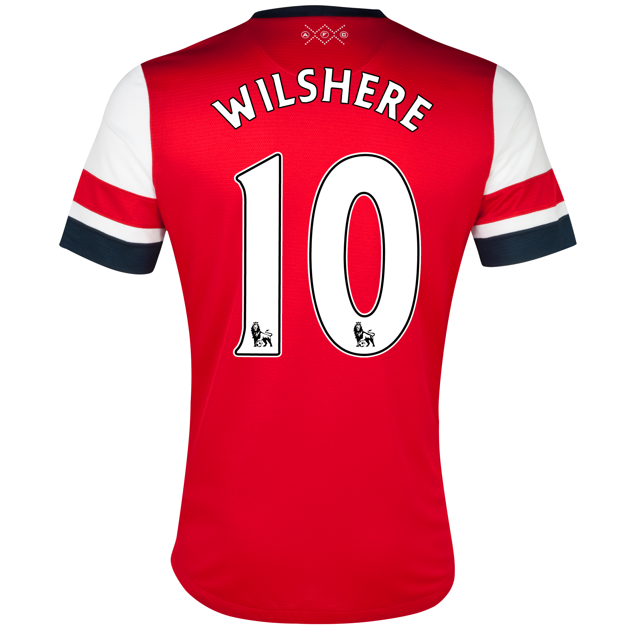 Arsenal Home Shirt 2012/14  - Womens with Wilshere 10 printing