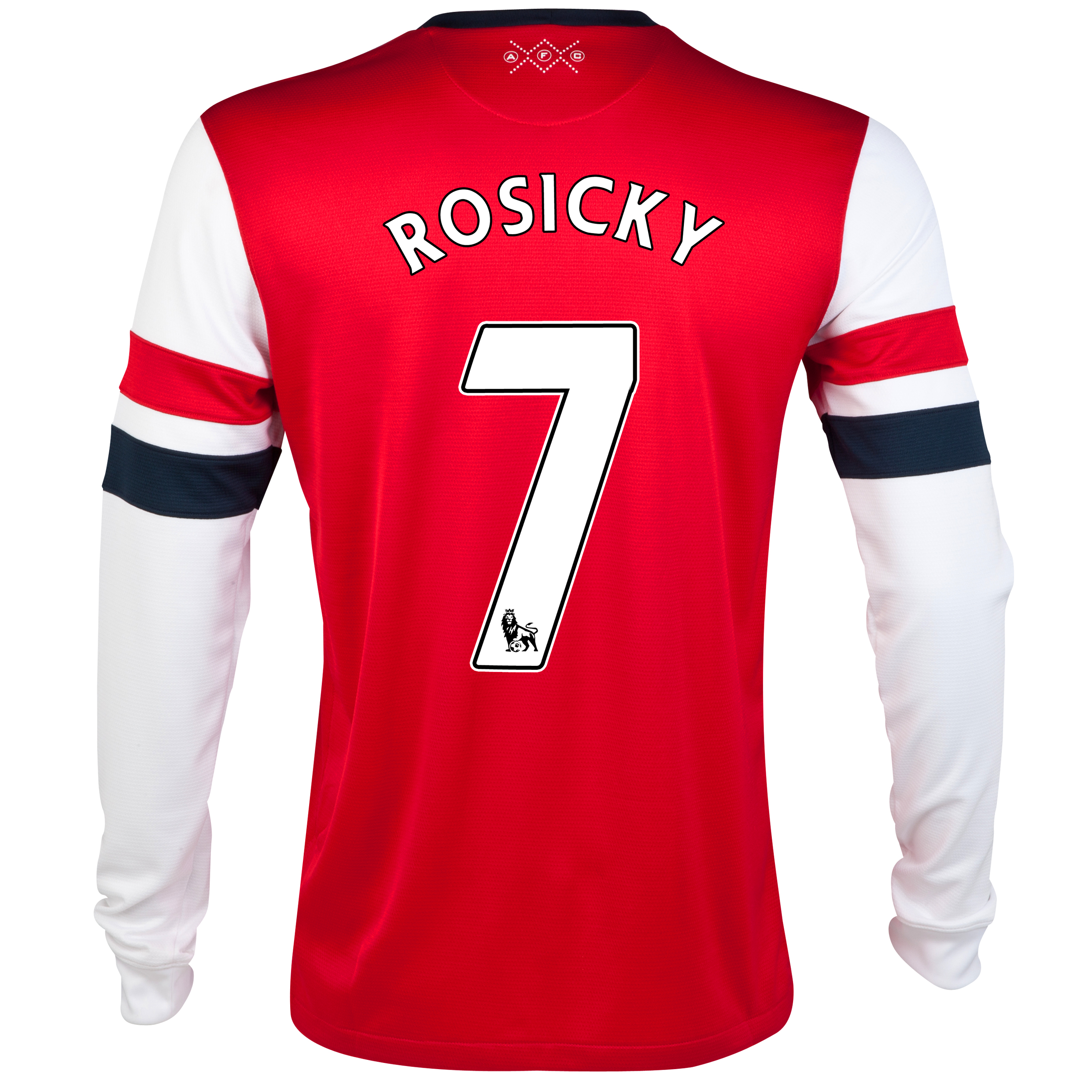 Arsenal Home Shirt 2012/14- Long Sleeved - Kids with Rosicky 7 printing