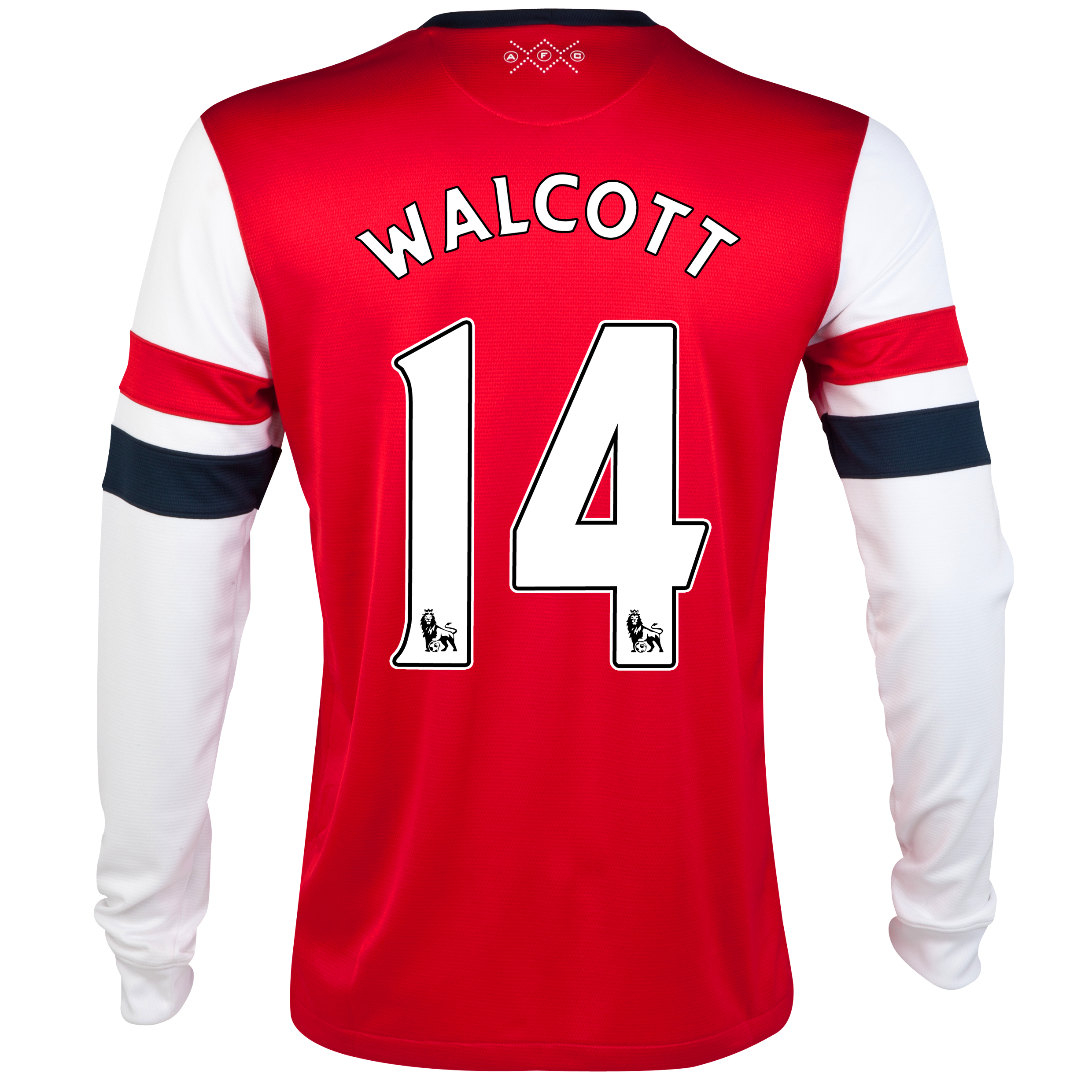 Arsenal Home Shirt 2012/14 - Long Sleeved - Kids with Walcott 14 printing