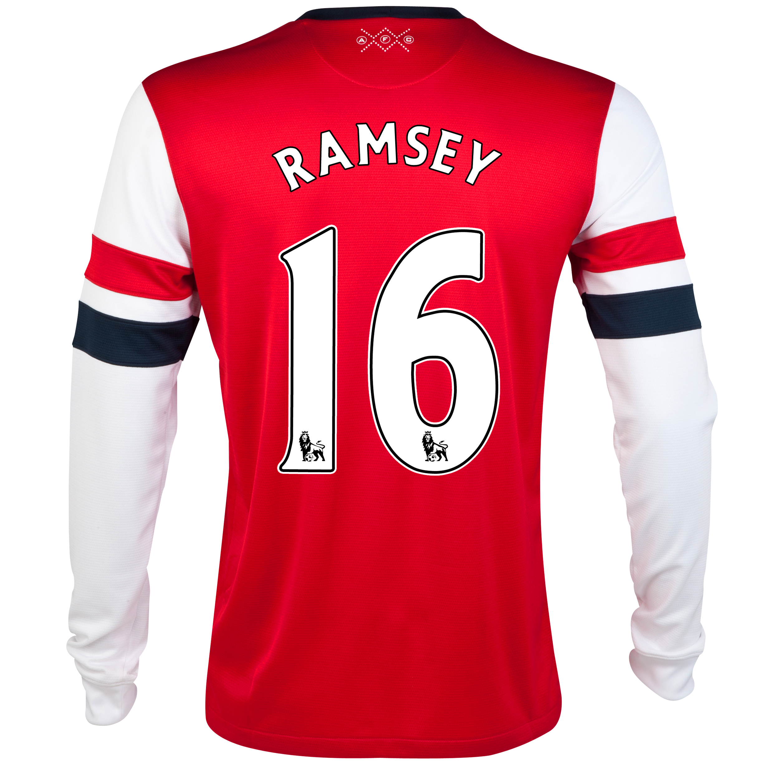 Arsenal  Home Shirt 2012/14 - Long Sleeved - Kids with Ramsey 16 printing
