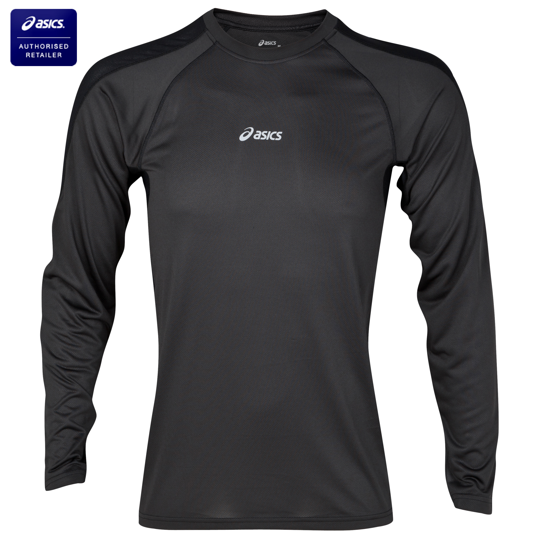 Asics Hermes Crew Top - Long Sleeve - Black