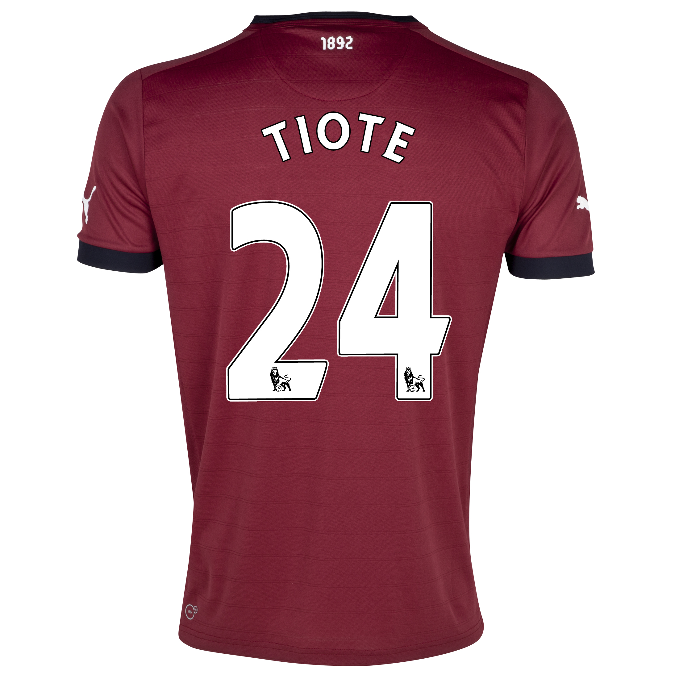 Newcastle United Away Shirt 2012/13 - Kids with Tiote 24 printing