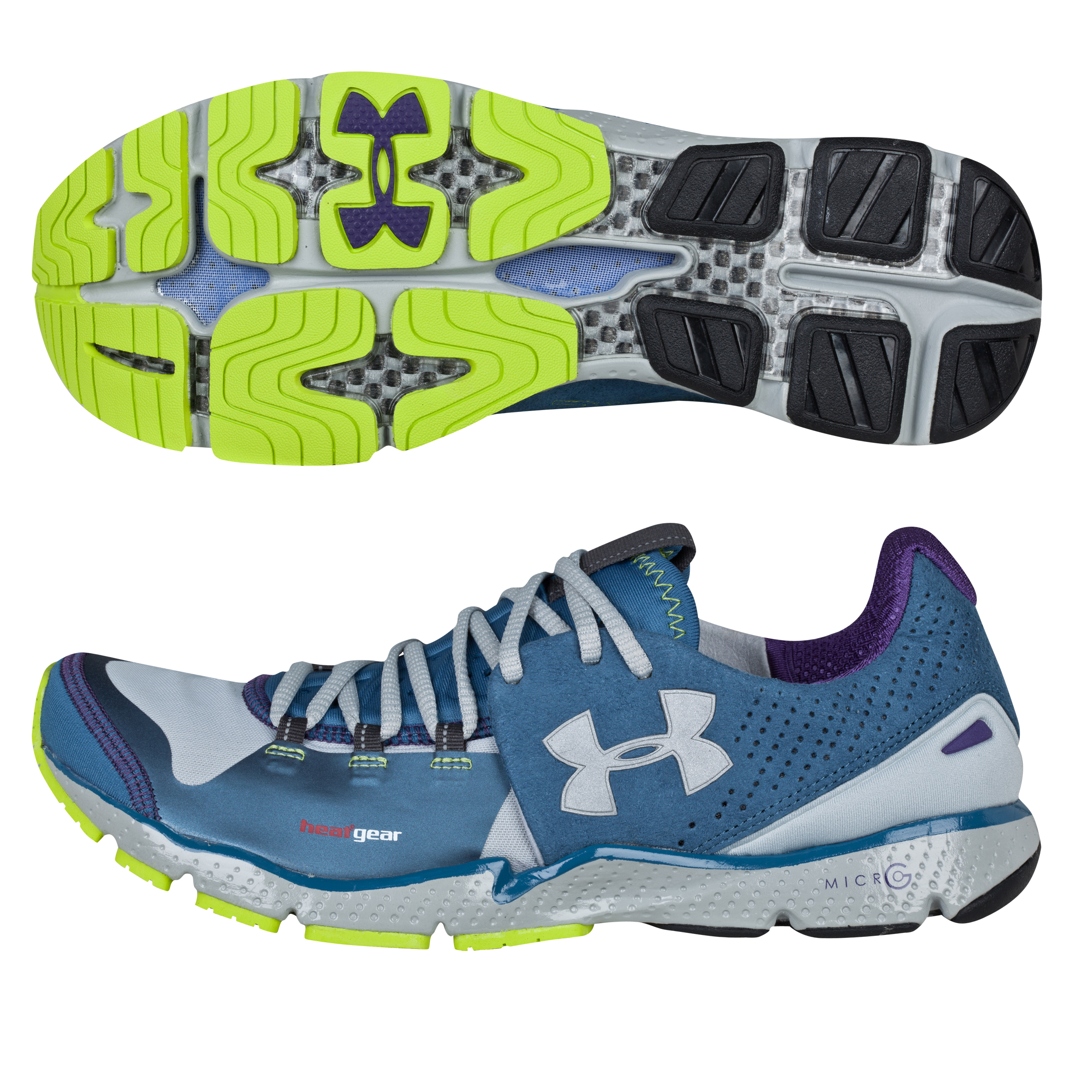 Under Armour Charge RC Running Trainers - Metallic Silver/Kinect/Metallic Silver
