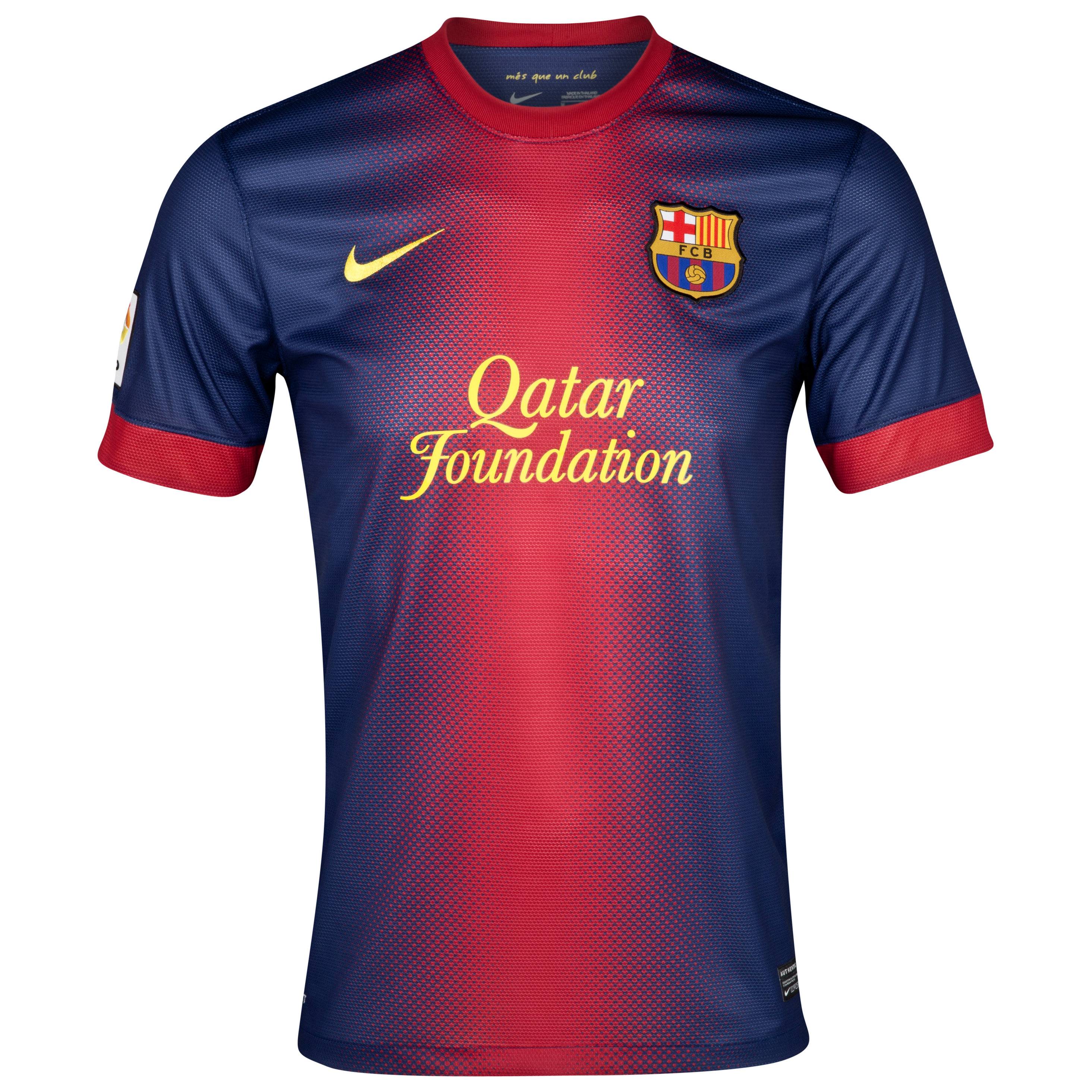 Barcelona Home Shirt 2012/13 - Youths with Xavi 6 printing. for 50€