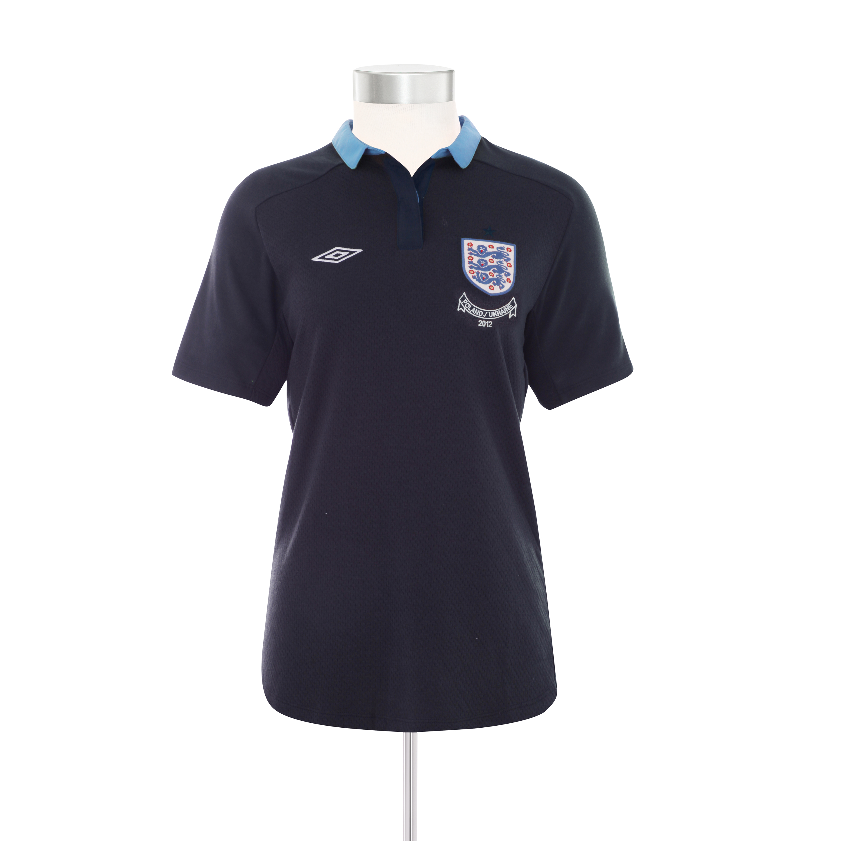 England Away Shirt 2011/12 Womens Including Poland/Ukraine Embroidery