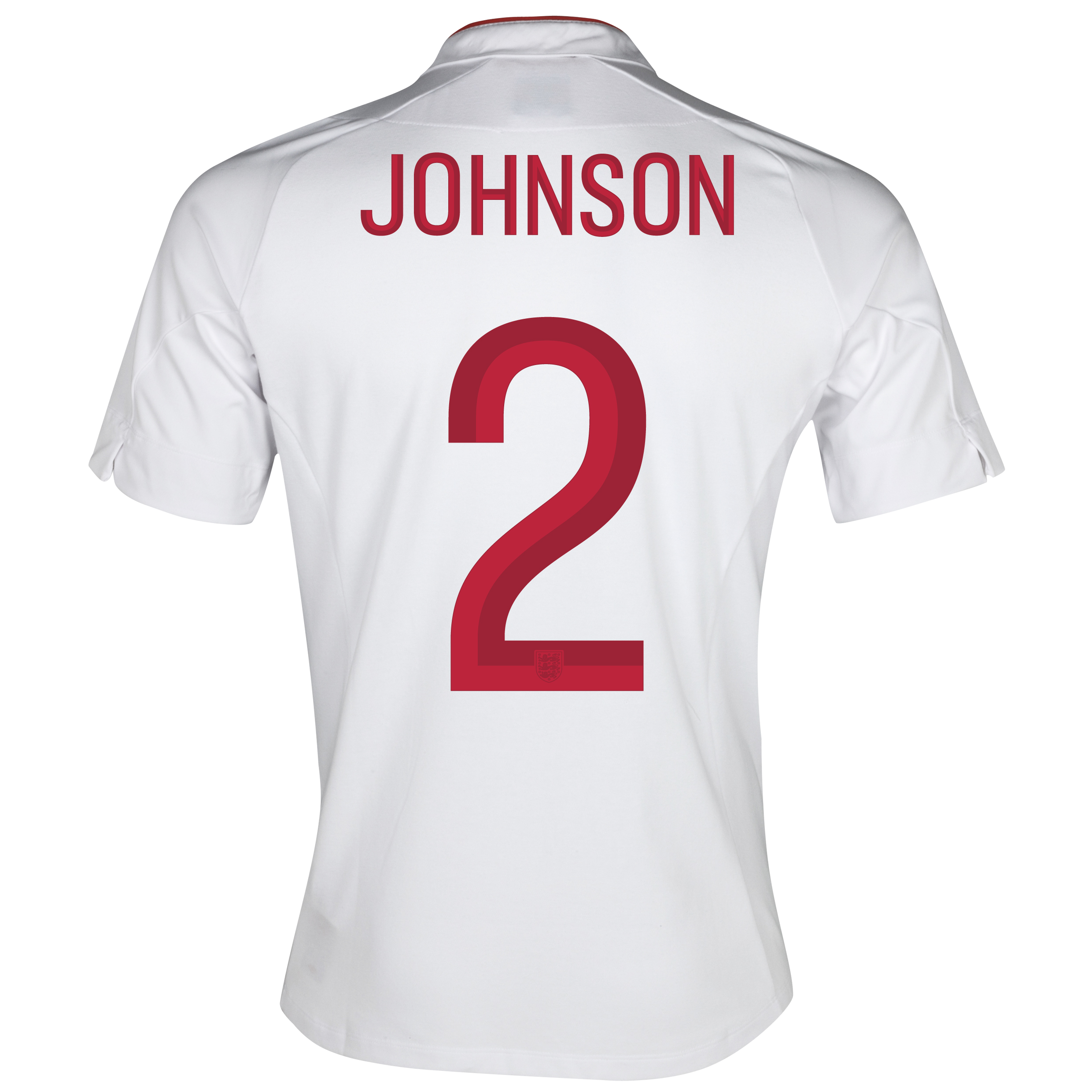 England Home Shirt 2012/13 - Boys with Johnson 2 printing