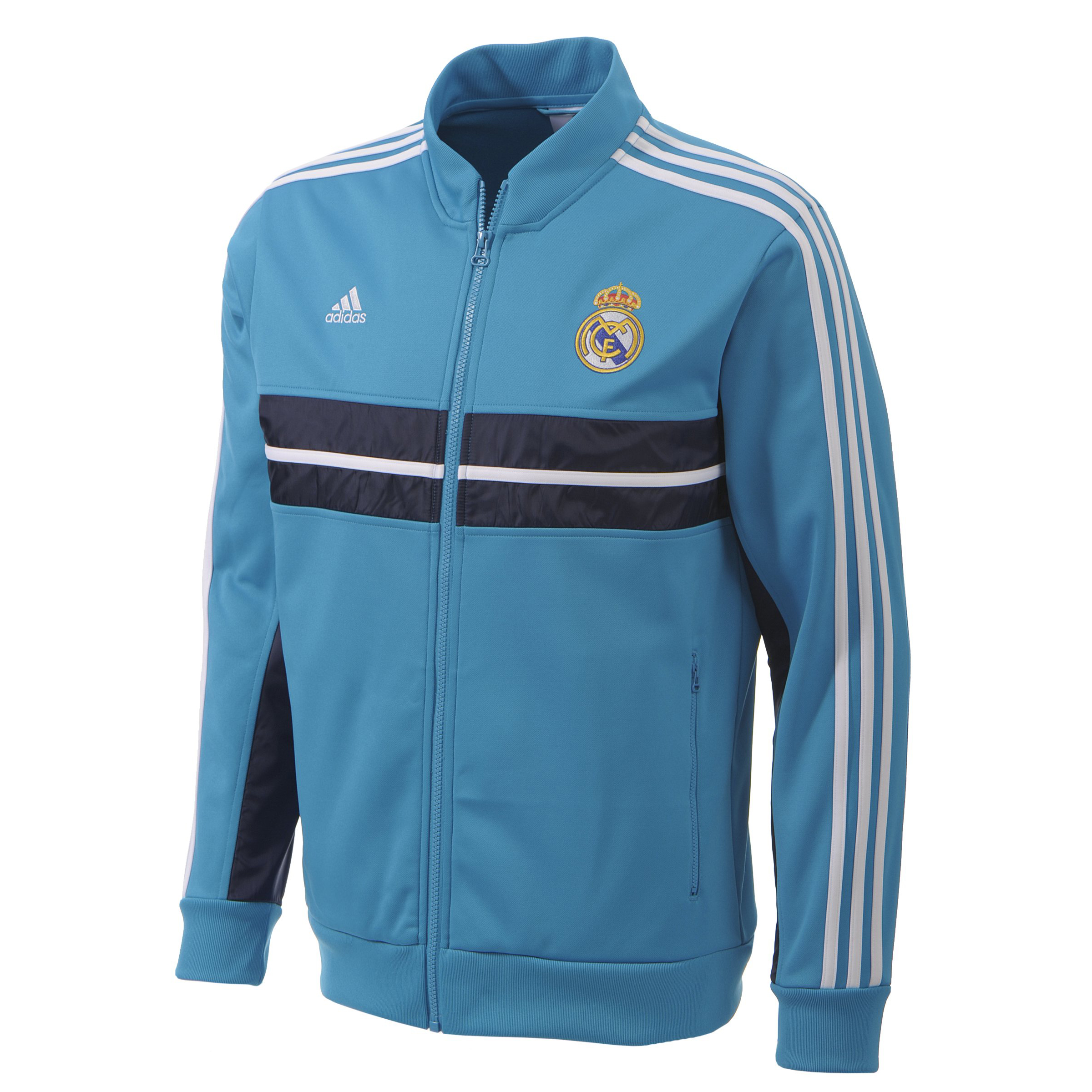 Real Madrid Anthem Jacket - Turquoise