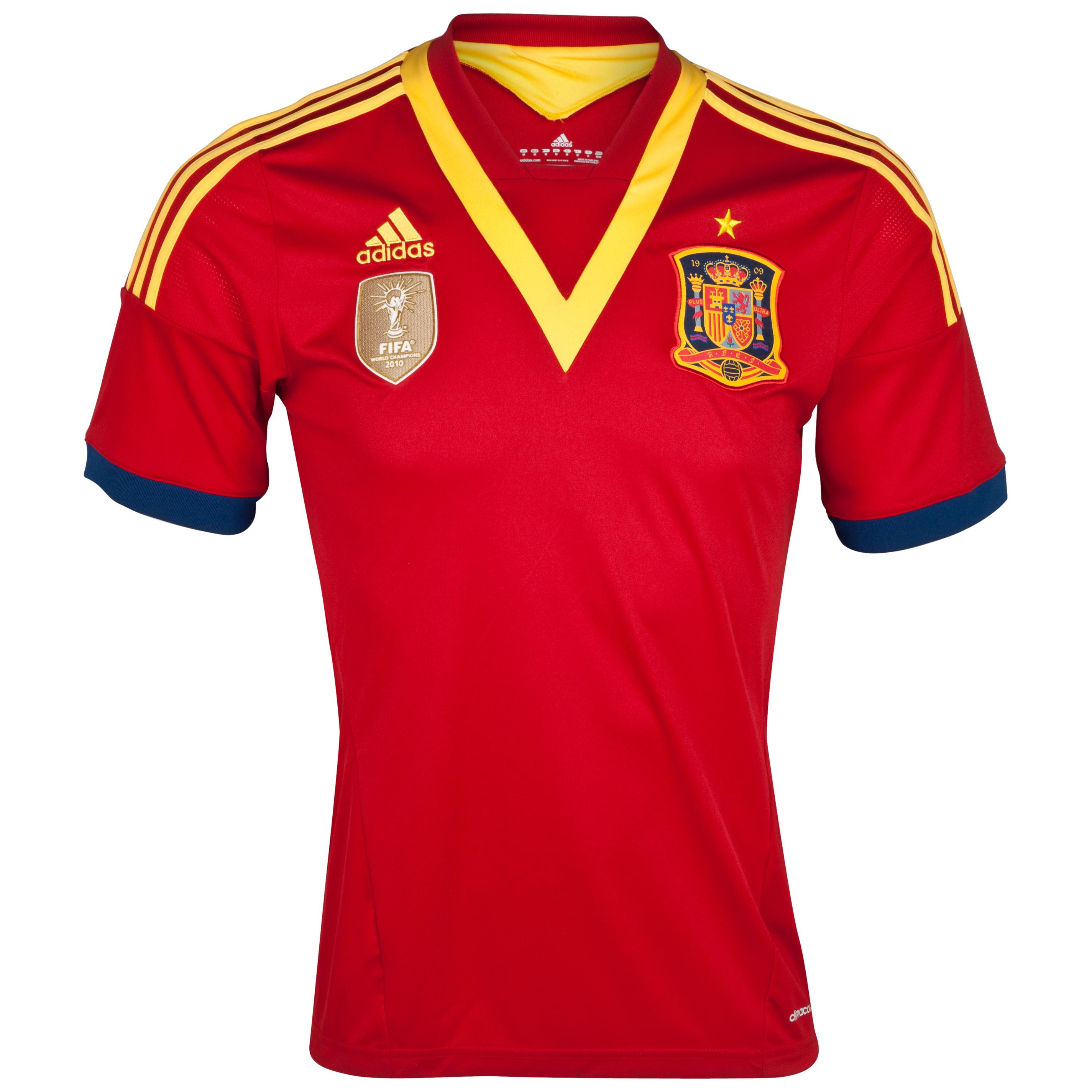 Spain Home Shirt 2013