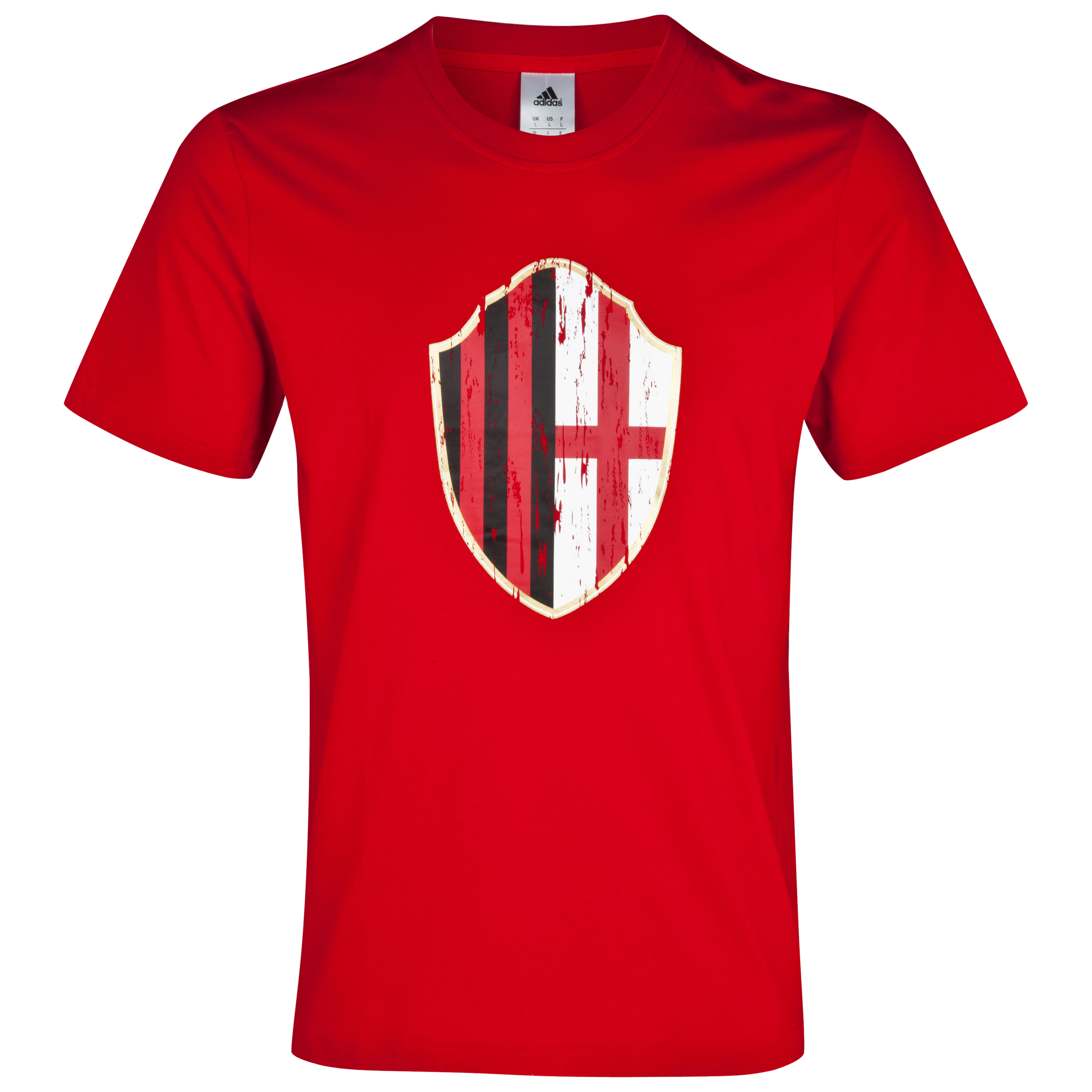 AC Milan Graphic T-Shirt - ACM Red